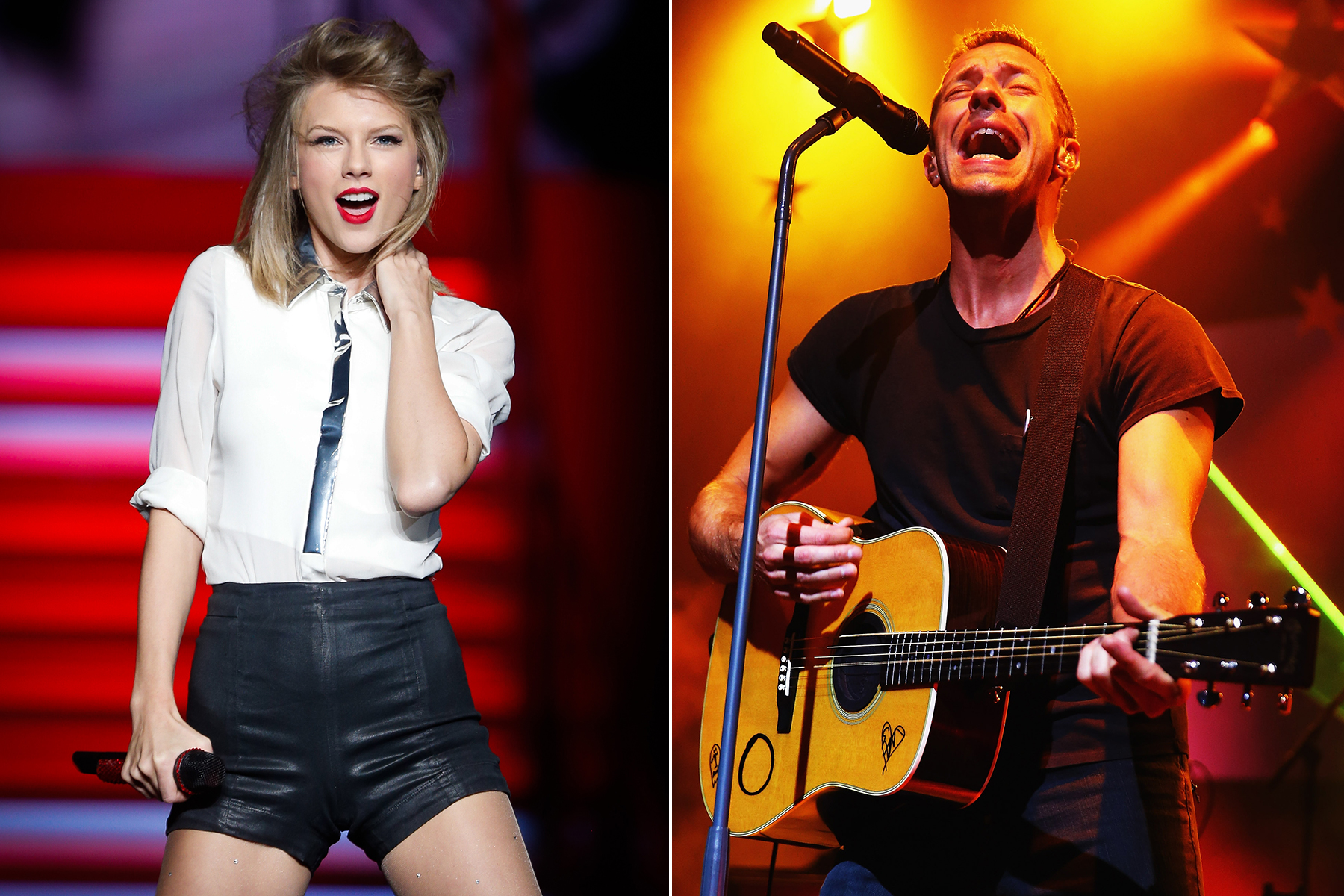 Taylor Swift, Coldplay, Usher to Play iHeartRadio Music Festival 2014