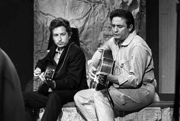 Flashback: Bob Dylan Sings 'I Threw It All Away' for Johnny Cash.jpg