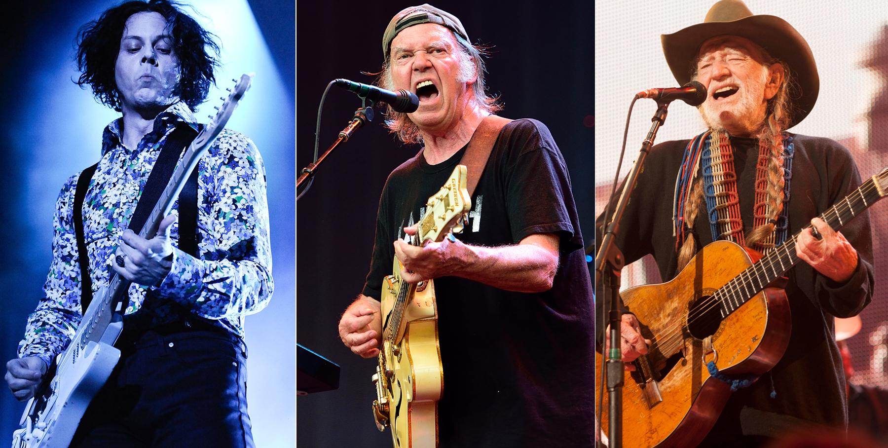Jack White, Neil Young, Willie Nelson to Headline Farm Aid