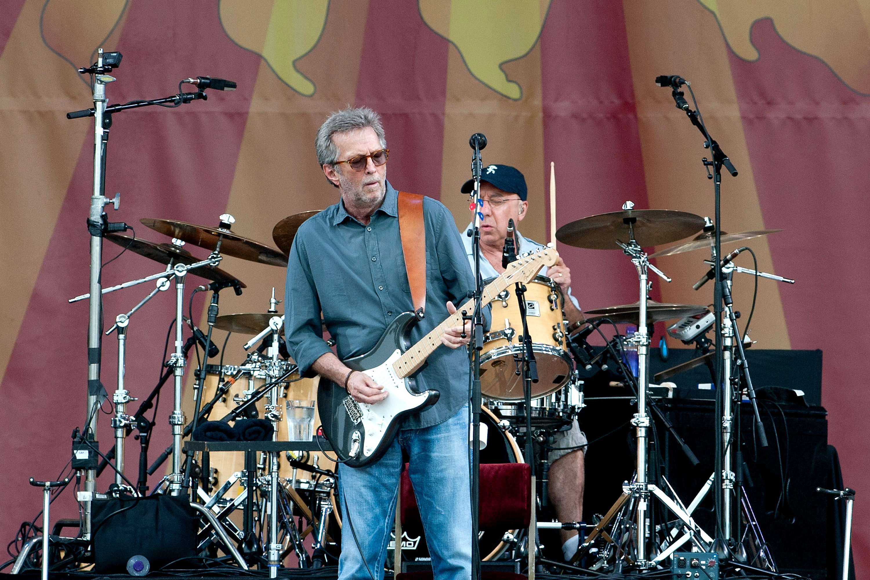 Eric Clapton Takes Off on New Tour Doc 'Planes, Trains and Eric'