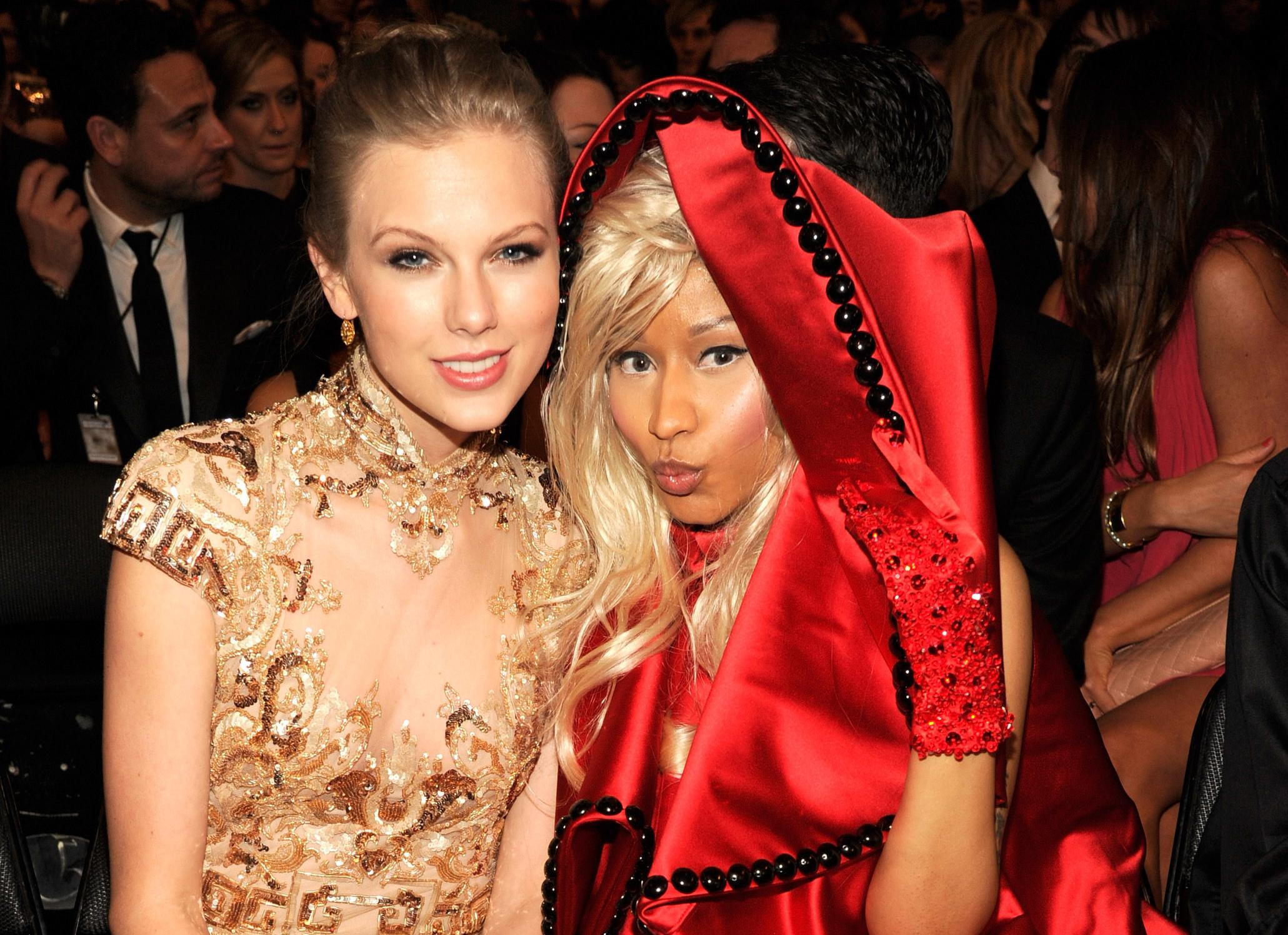 Nicki Minaj, Taylor Swift Set for Chart Battle
