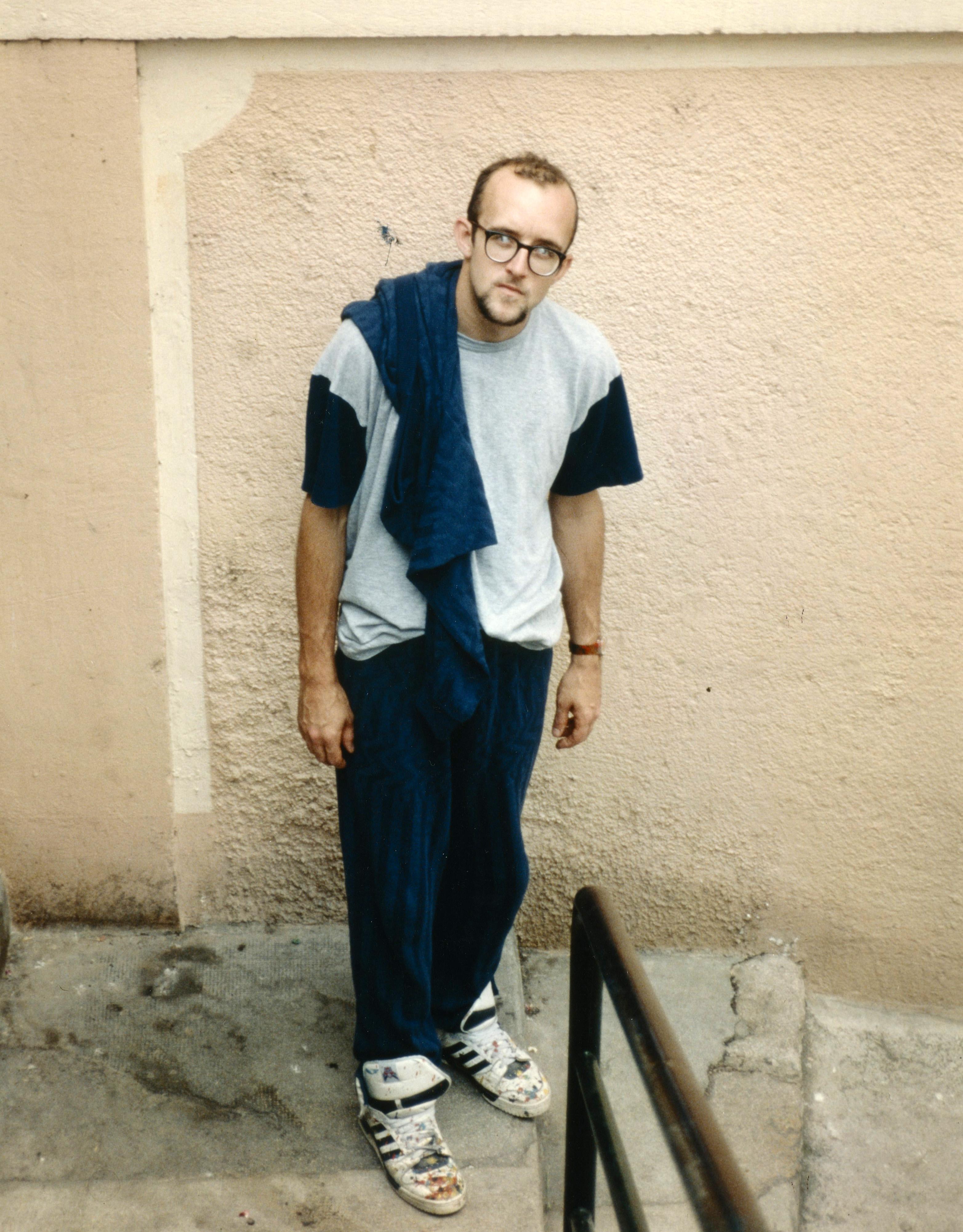 9de6ef1a378870 American pop artist and activist Keith Haring.