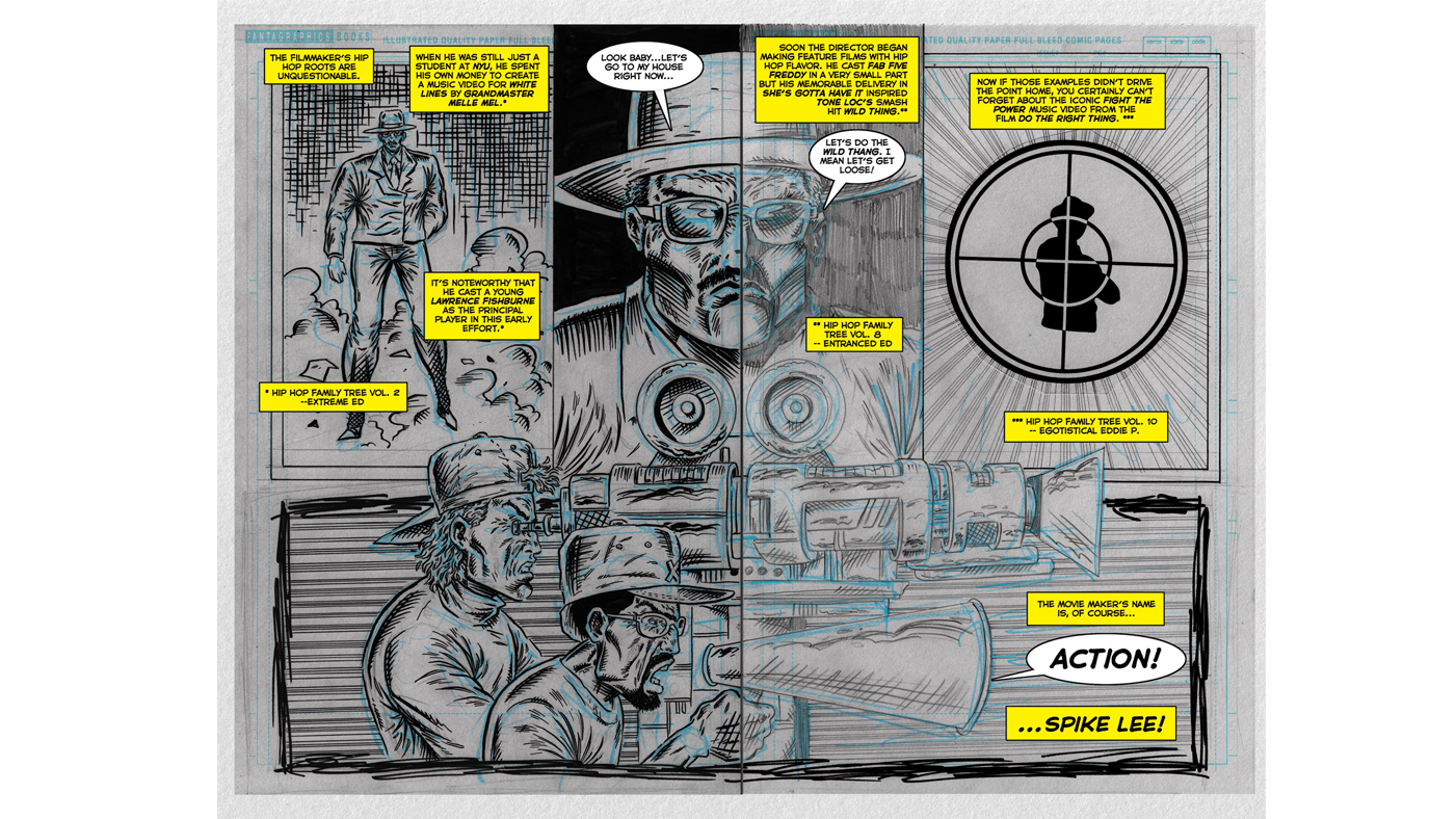 See a Raw, Edgy Spike Lee Comic From 'Hip Hop Family Tree' Box Set