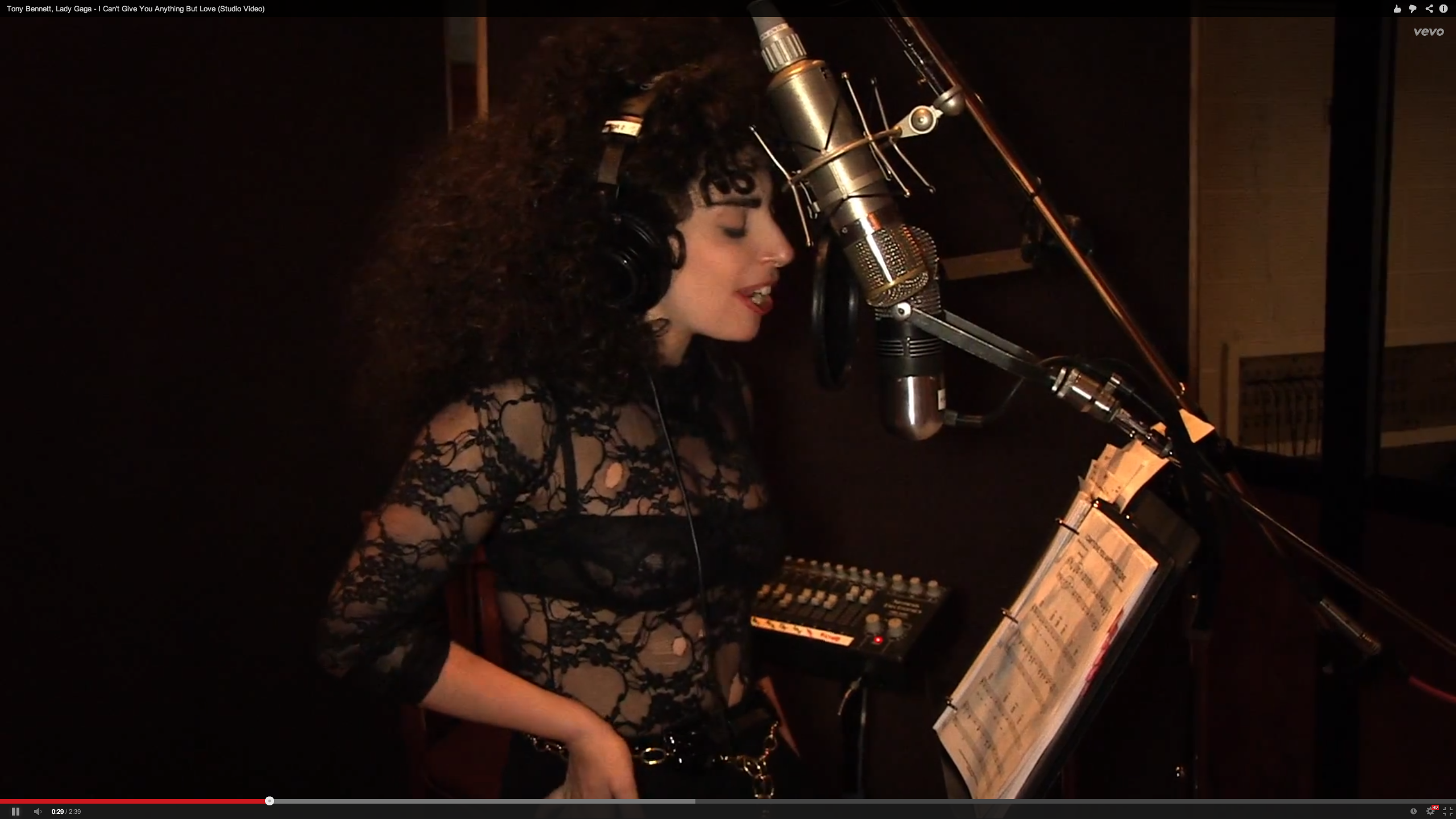Lady Gaga, Tony Bennett Proclaim, 'I Can't Give You Anything But