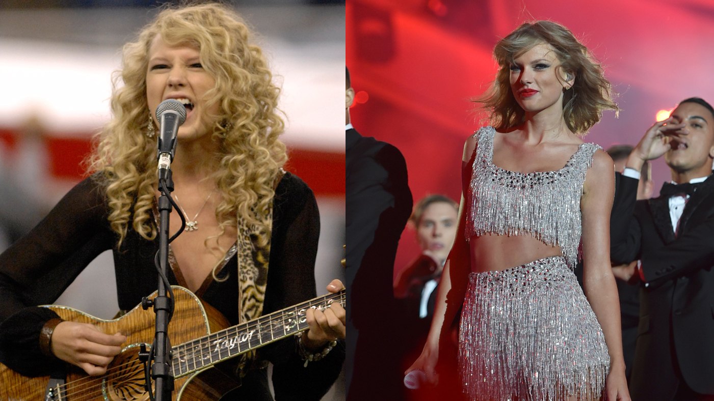 Trace Taylor Swift S Country To Pop Transformation In 5 Songs Rolling Stone