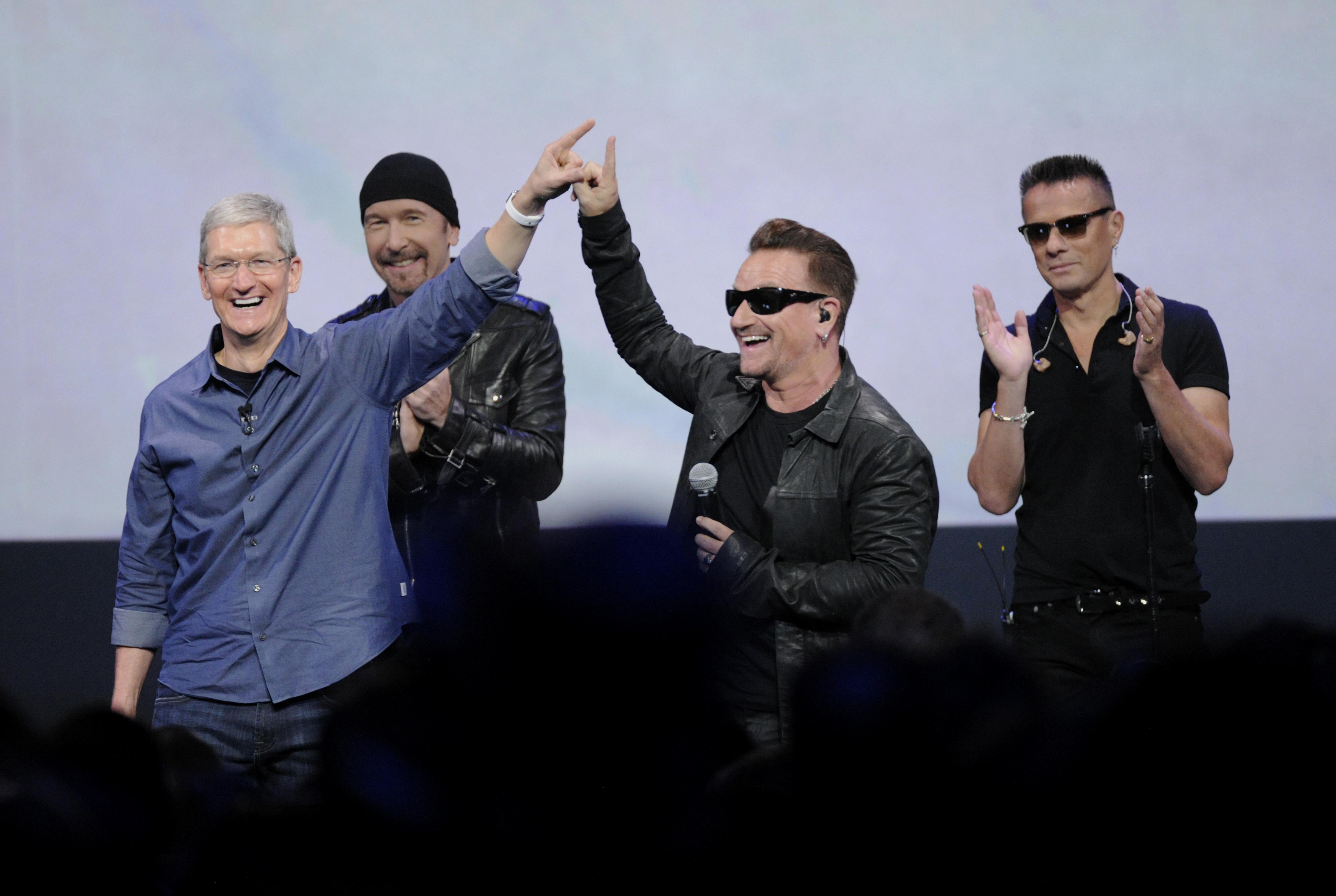 Bono Reveals Secrets of U2's Surprise LP 'Songs of Innocence'