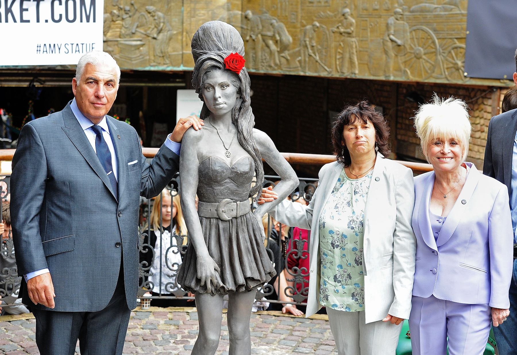 Amy Winehouse Statue Unveiled in London on Late Singer's Birthday