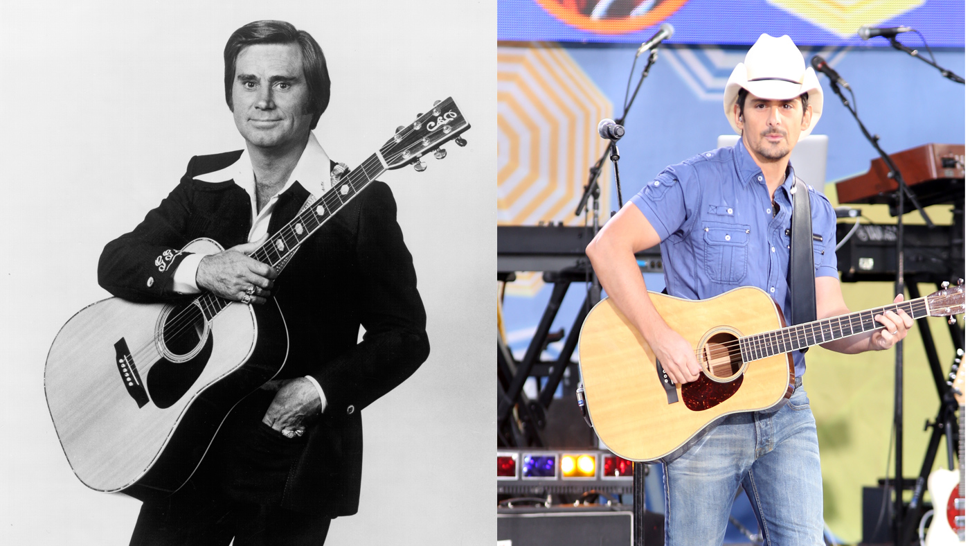 George Jones and Brad Paisley