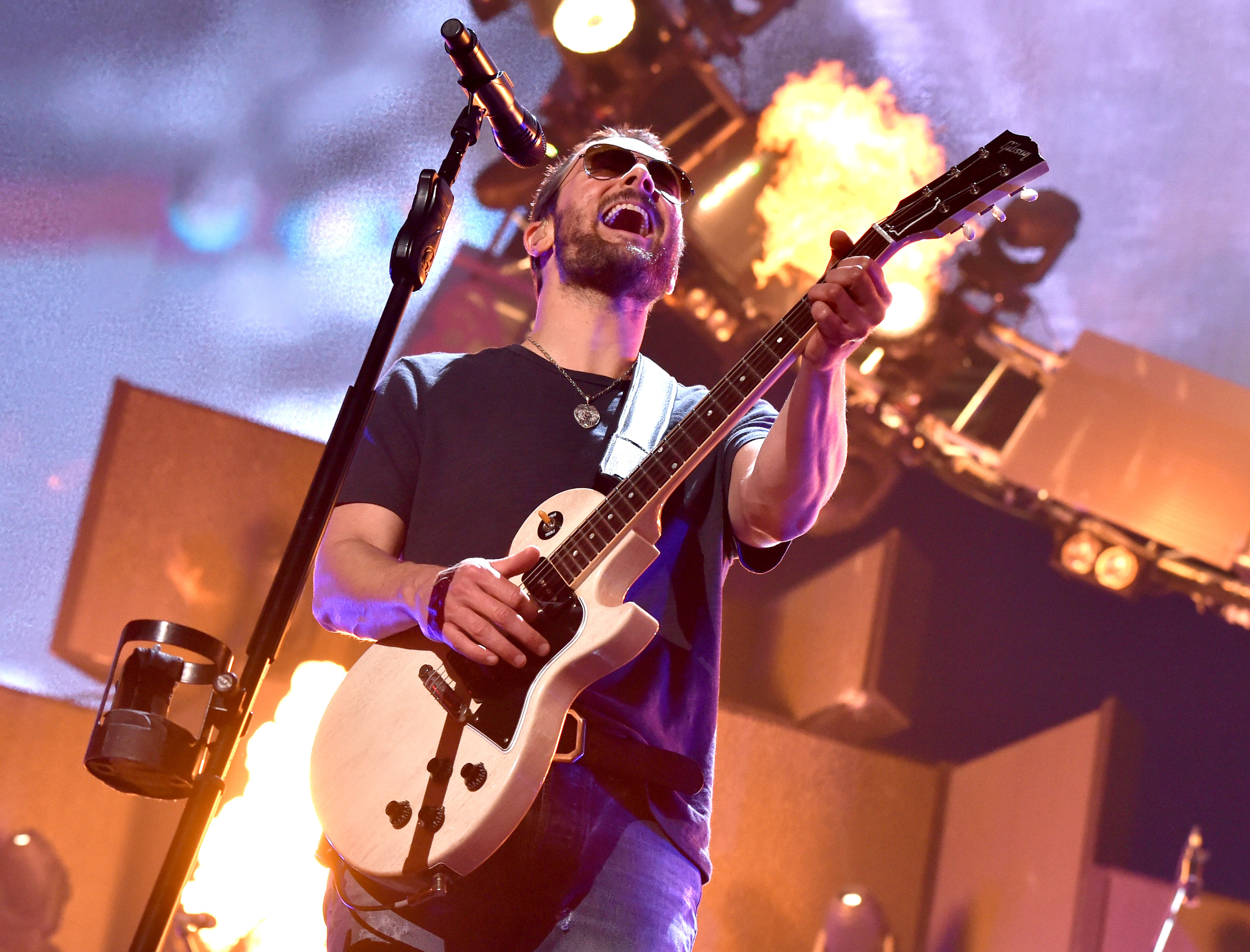 Eric Church Plays Rock God on Outsiders Tour