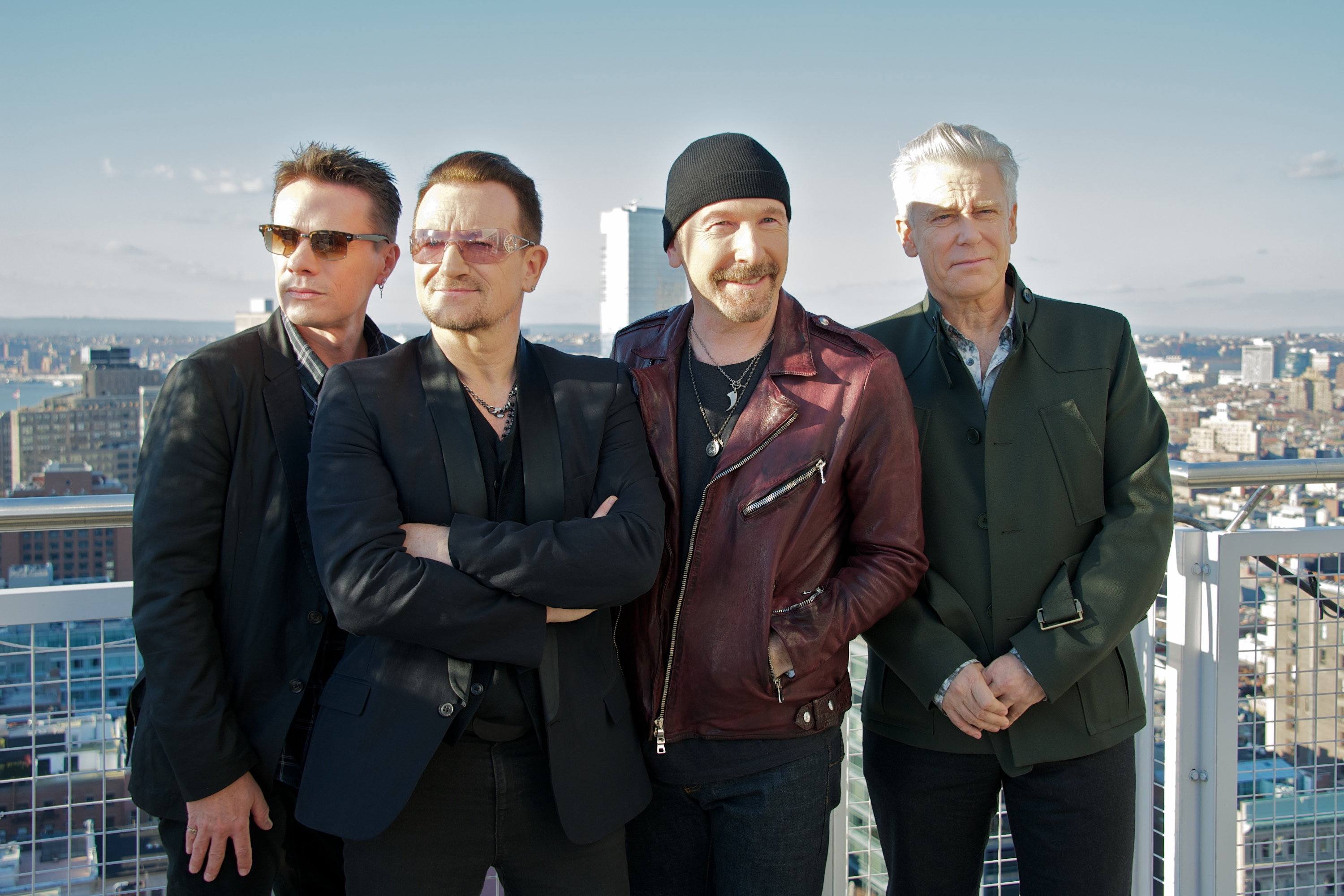 U2 Reveal Intimate Album Cover for 'Songs of Innocence'