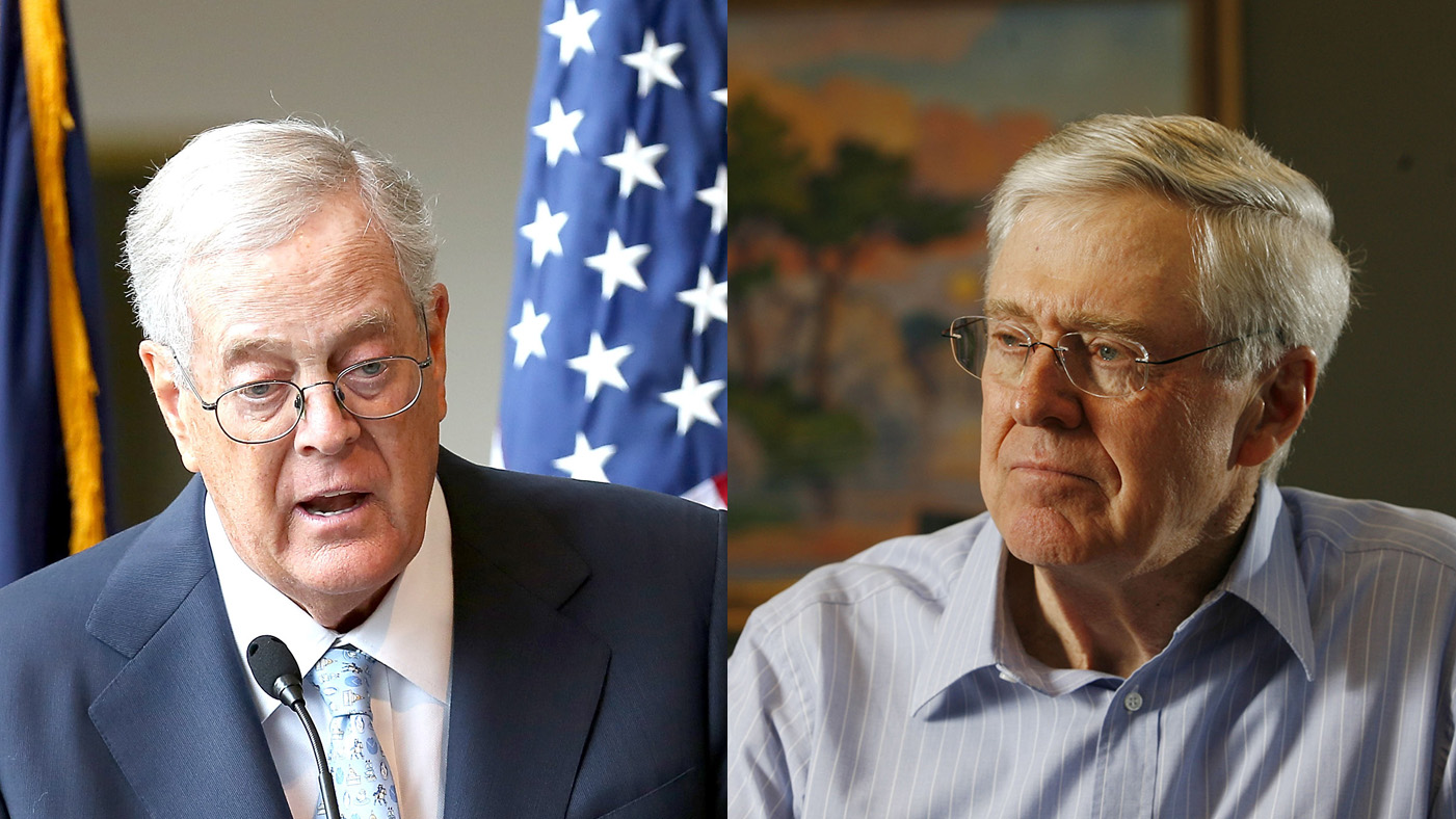 Charles David Koch We Know Who You Are >> Inside The Koch Brothers Toxic Empire Rolling Stone
