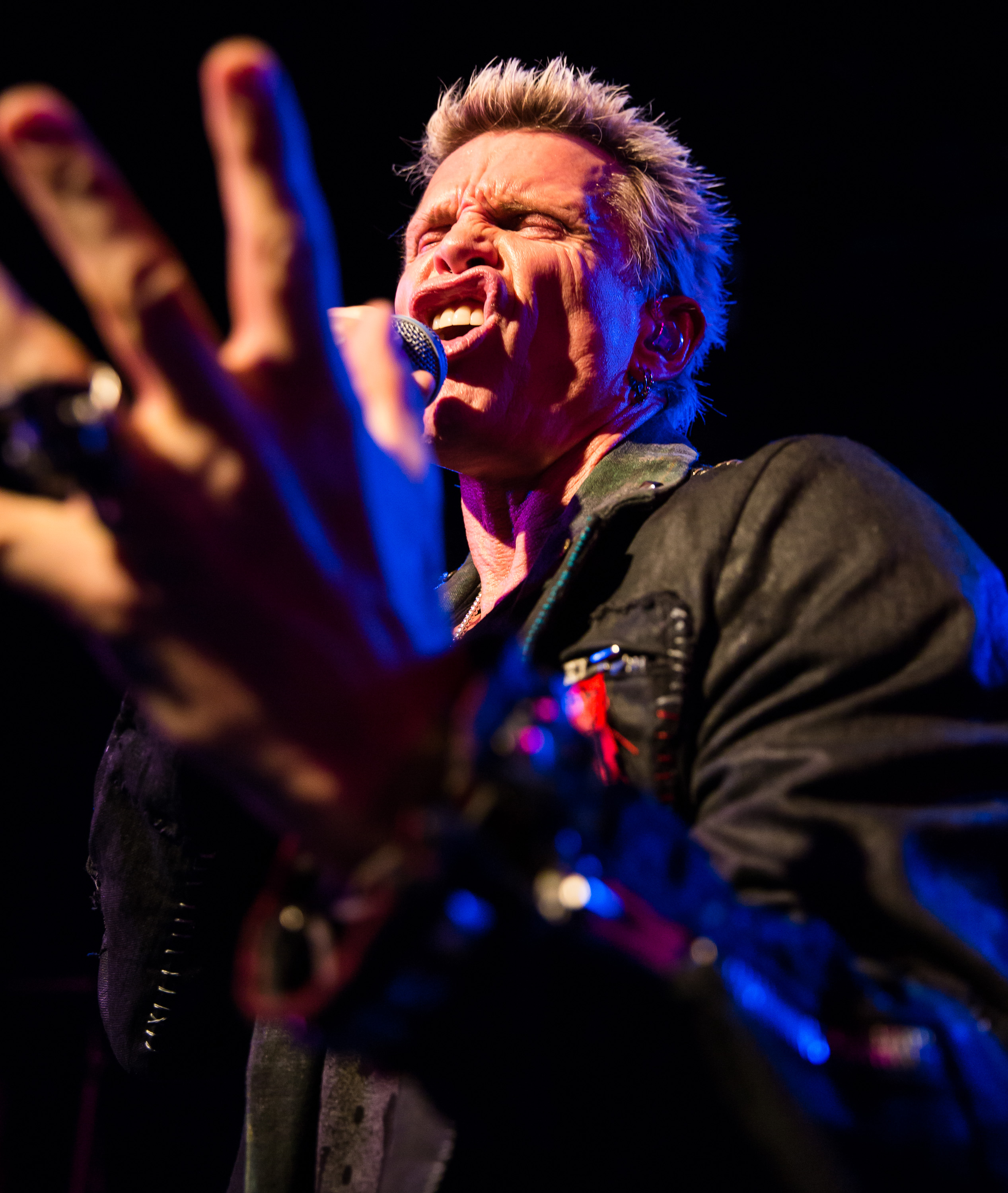 Billy Idol Performs In West Hollywood California On December 20th 2017