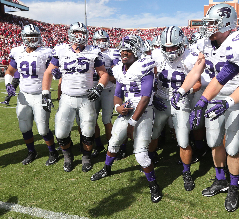 Purple Reign Kansas State Crashes College Football S