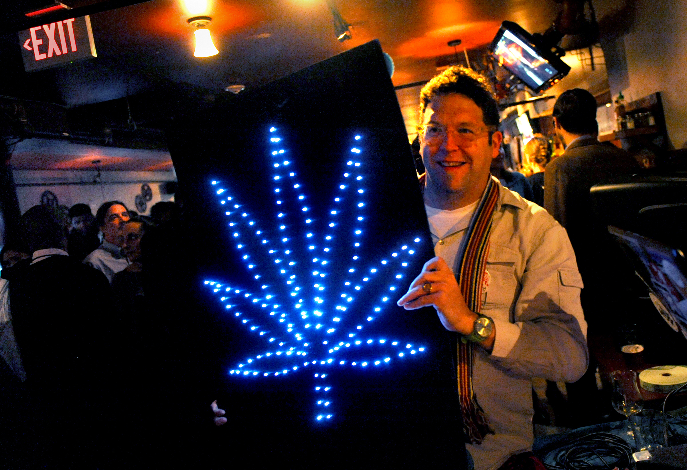 A Bright Green Spot in a Dark Election: Weed Is More Legal Now