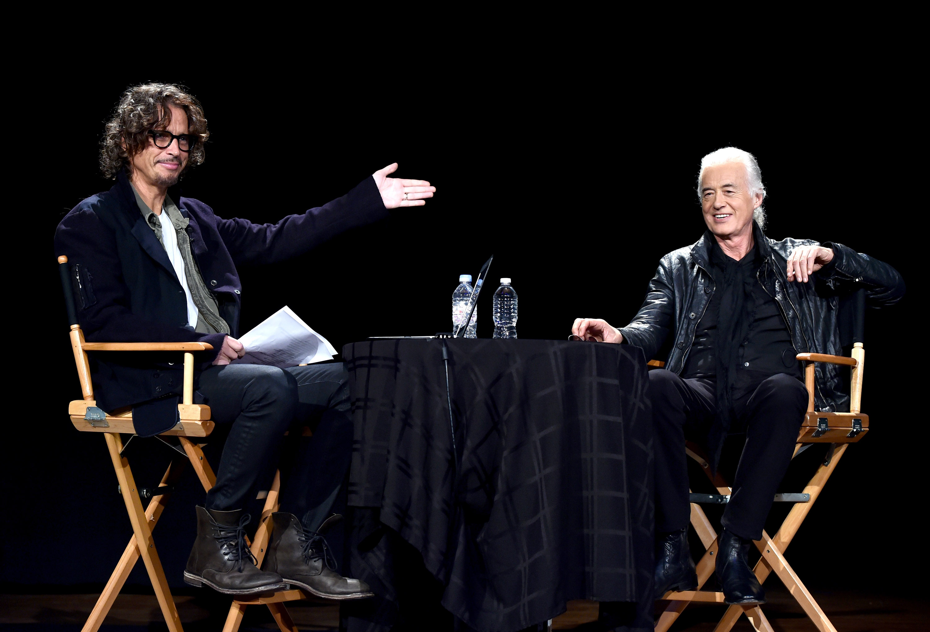 Chris Cornell Quizzes Jimmy Page About Led Zeppelin's Glory Days