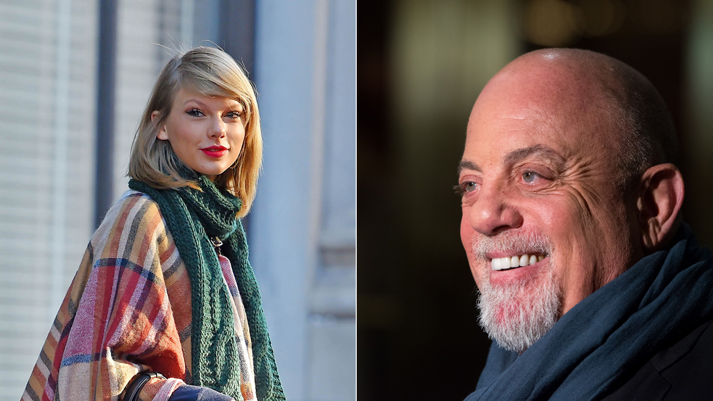 Billy Joel Defends NYC Tourism Rep Taylor Swift: 'You Snoots. Let Her In'