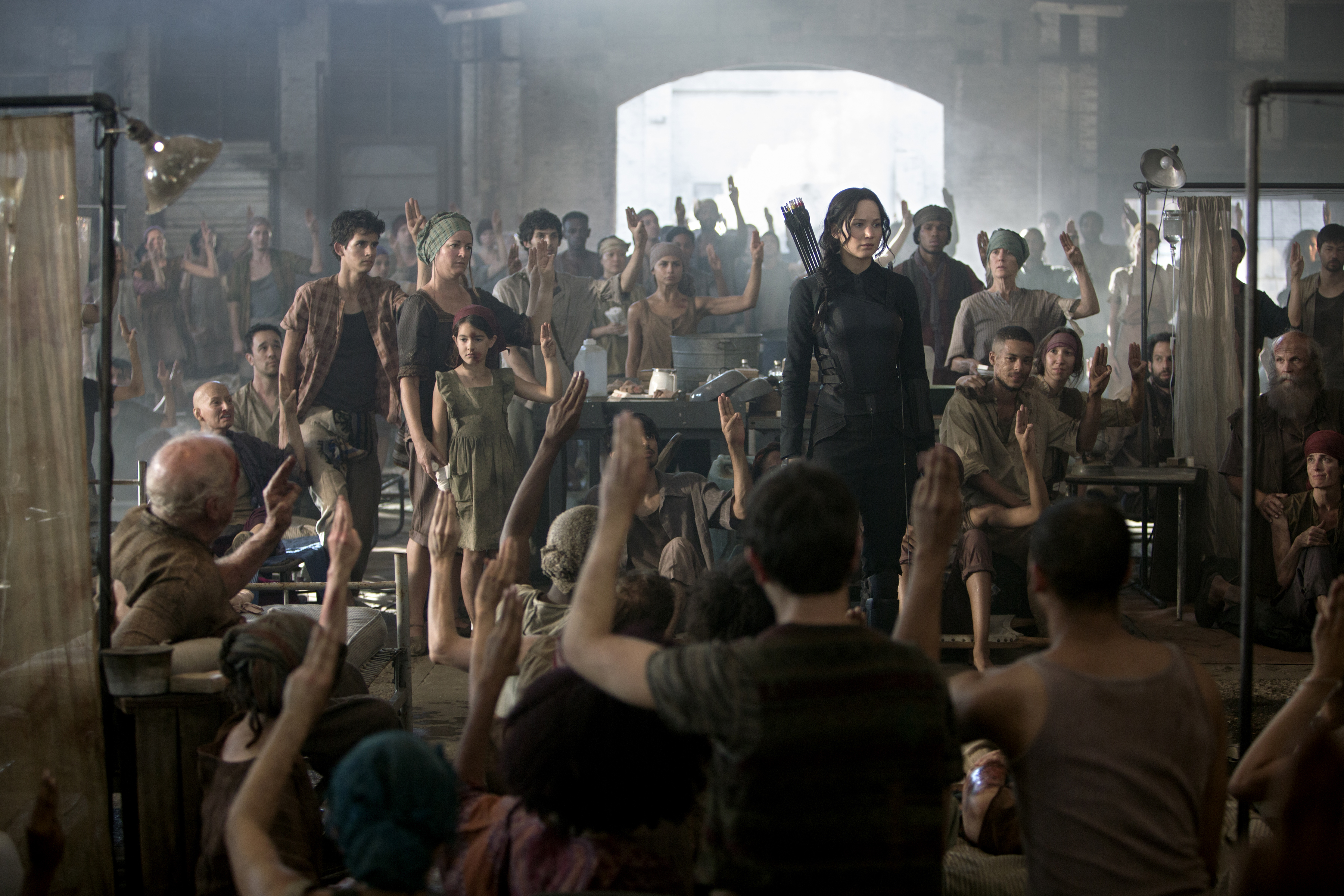 'The Hunger Games: Mockingjay -- Part 1' Movie Review ...