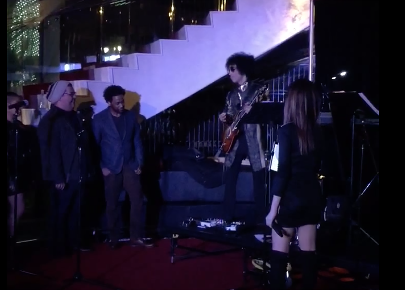 Watch Prince Surprise Jazz Band, Cover Beatles With Epic Guitar Solo