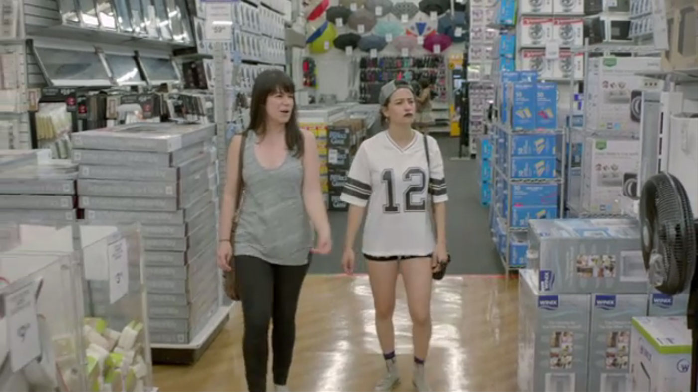 Broad City Takes Bed Bath And Beyond By Storm Rolling