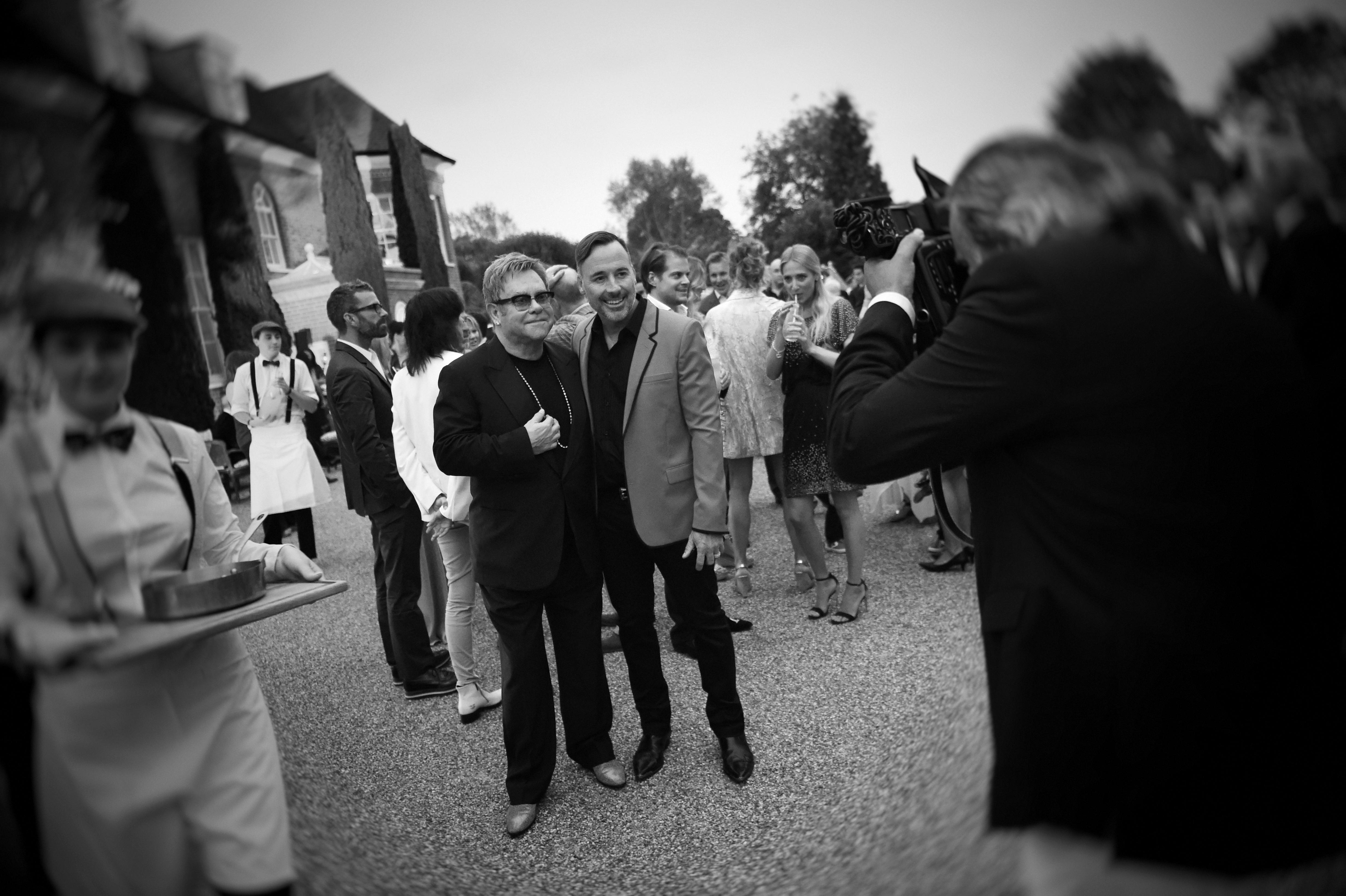 Elton John to Wed David Furnish This Weekend in England