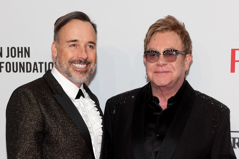 Elton John Marries Longtime Partner David Furnish