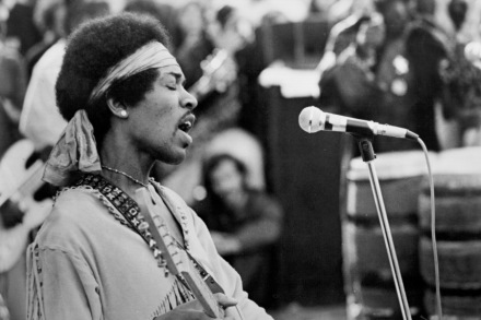 Jimi Hendrix On Early Influences, 'Axis' and More