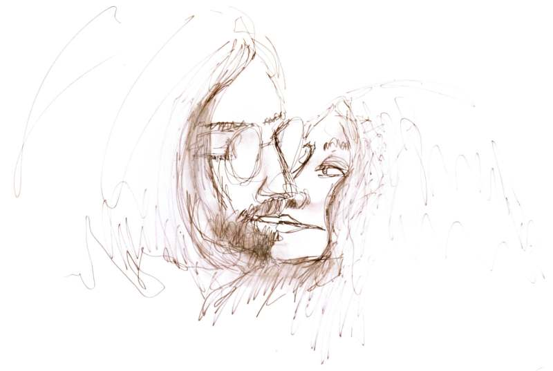 See John Lennon S Minimalist Sketches From The Complete Artwork Rolling Stone