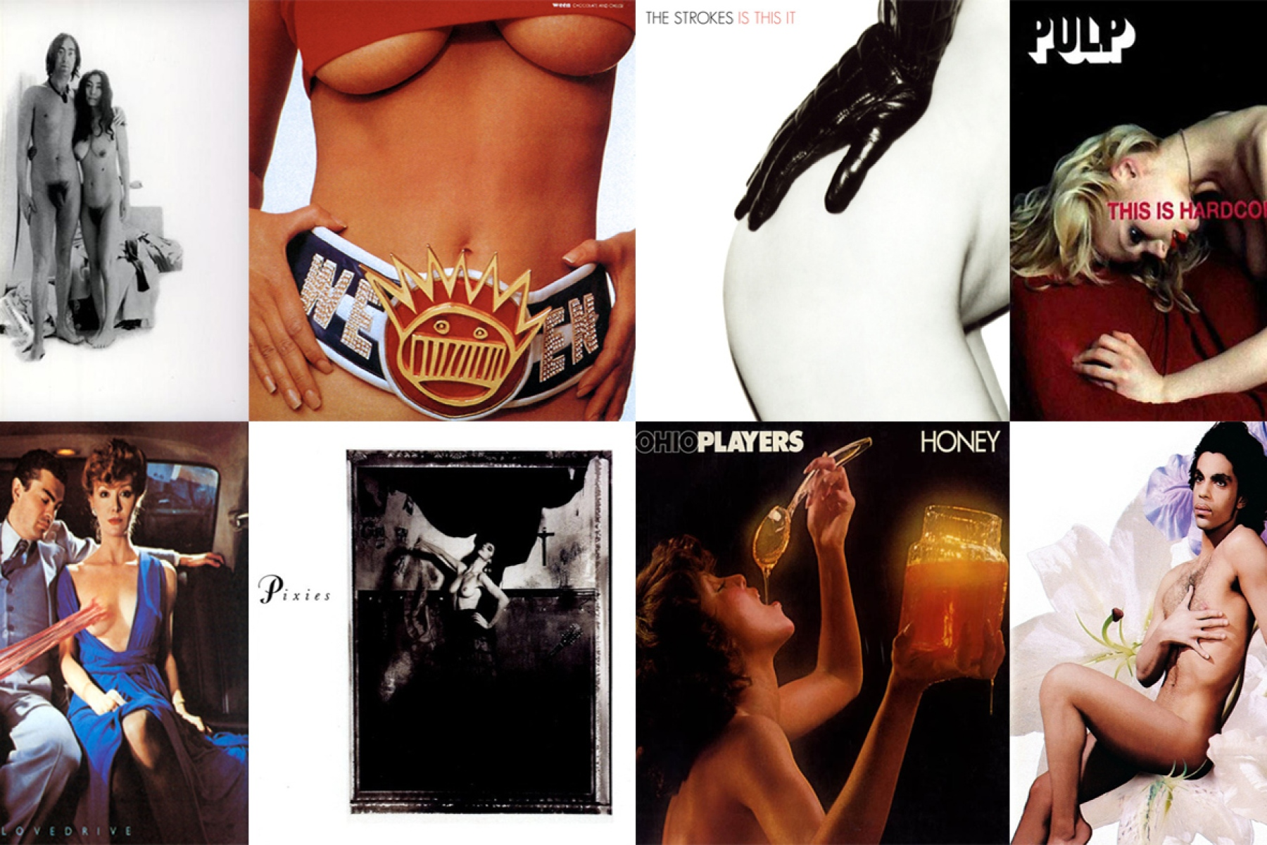 20 Dirtiest Album Covers of All Time: From Prince to the Strokes ...