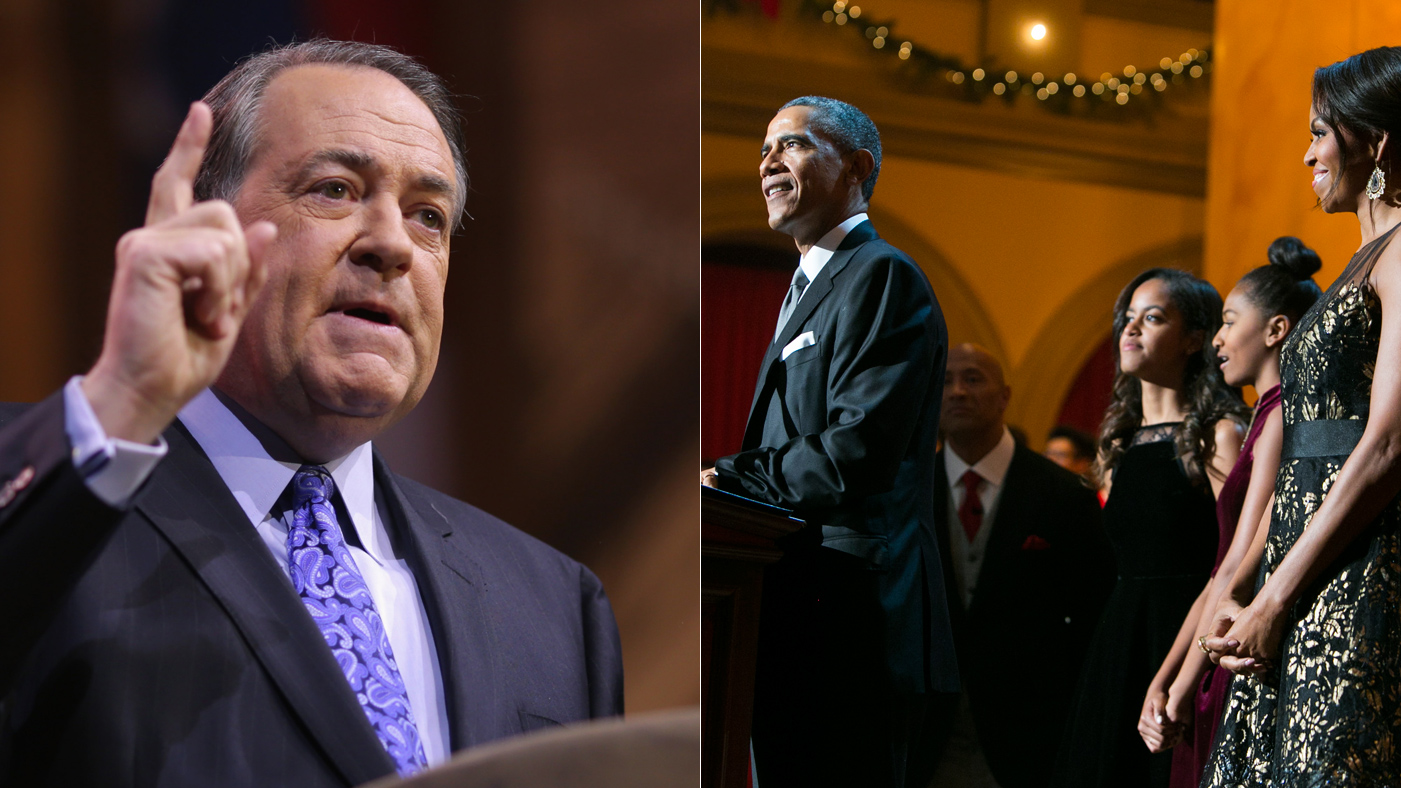 Mike Huckabee Blasts Obamas for Letting Daughters Listen to Beyonce
