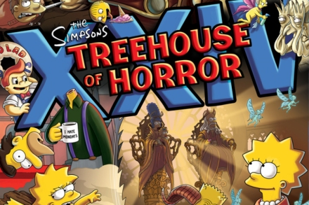 Simpsons' Picks Guillermo Del Toro for Spooky Couch Gag