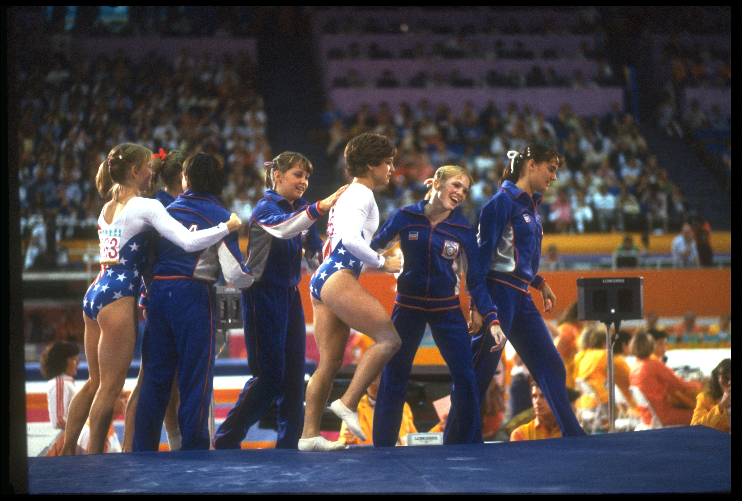photo Mary Lou Retton 5 Olympic medals