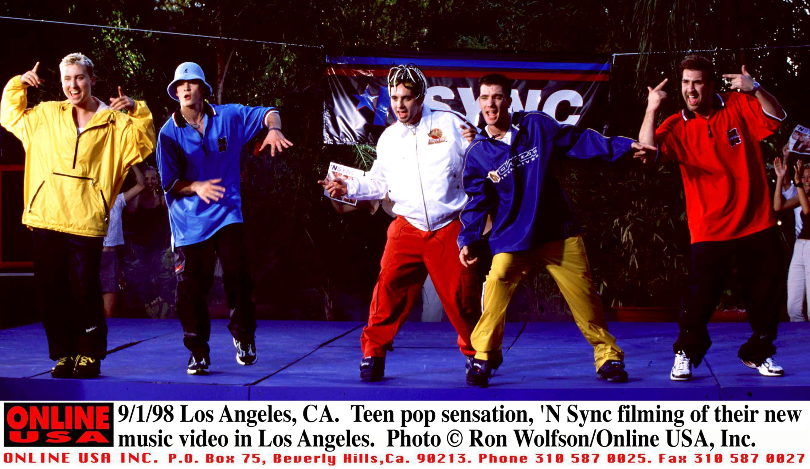N Sync is the Sound of Young America – Rolling Stone
