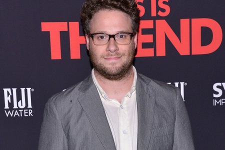 Seth Rogan Christmas.Seth Rogen Sparking Up A Christmas Stoner Movie Rolling Stone