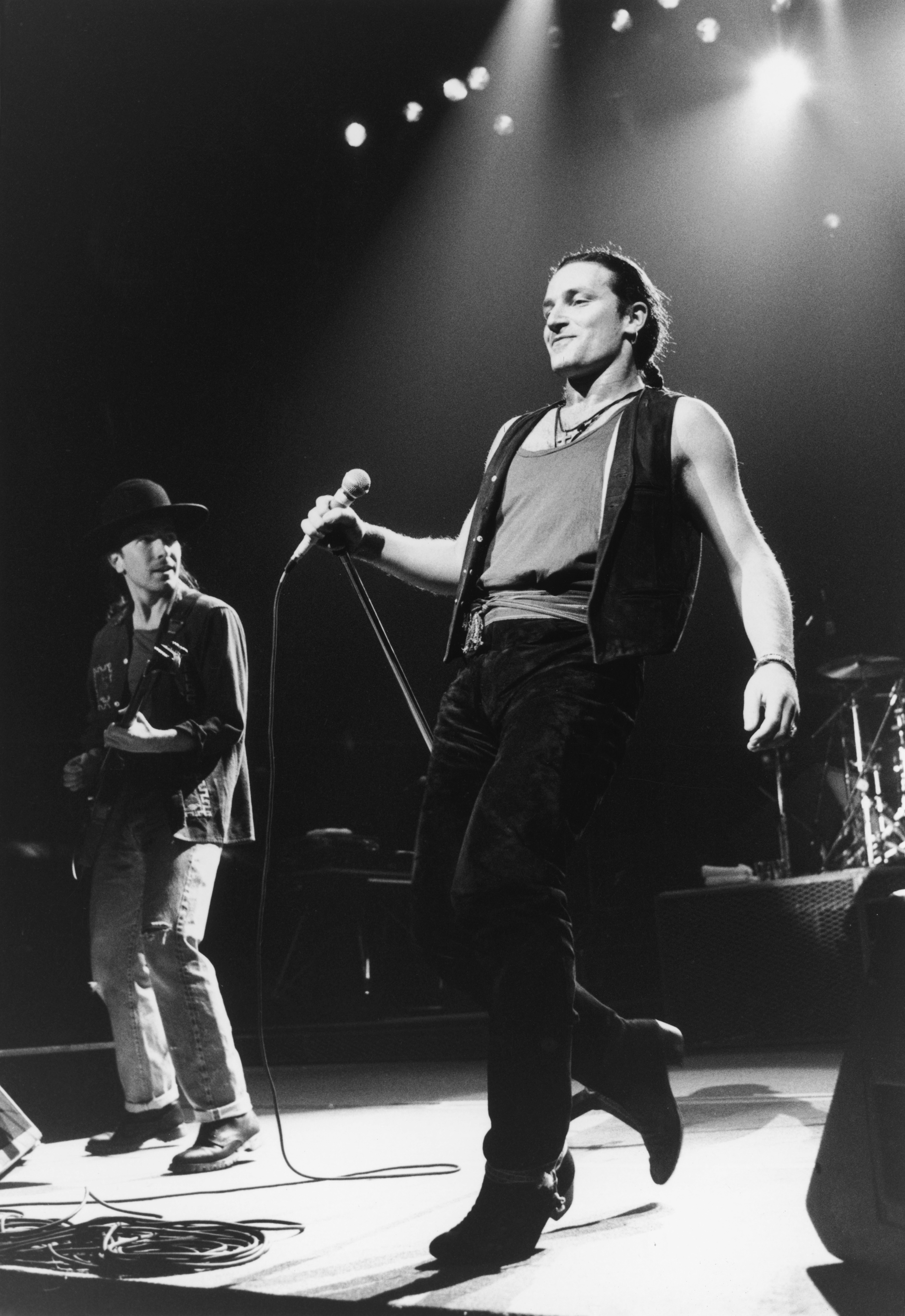 Bono probably War era U2 Bono u2 Cool lyrics et Rolling Stones