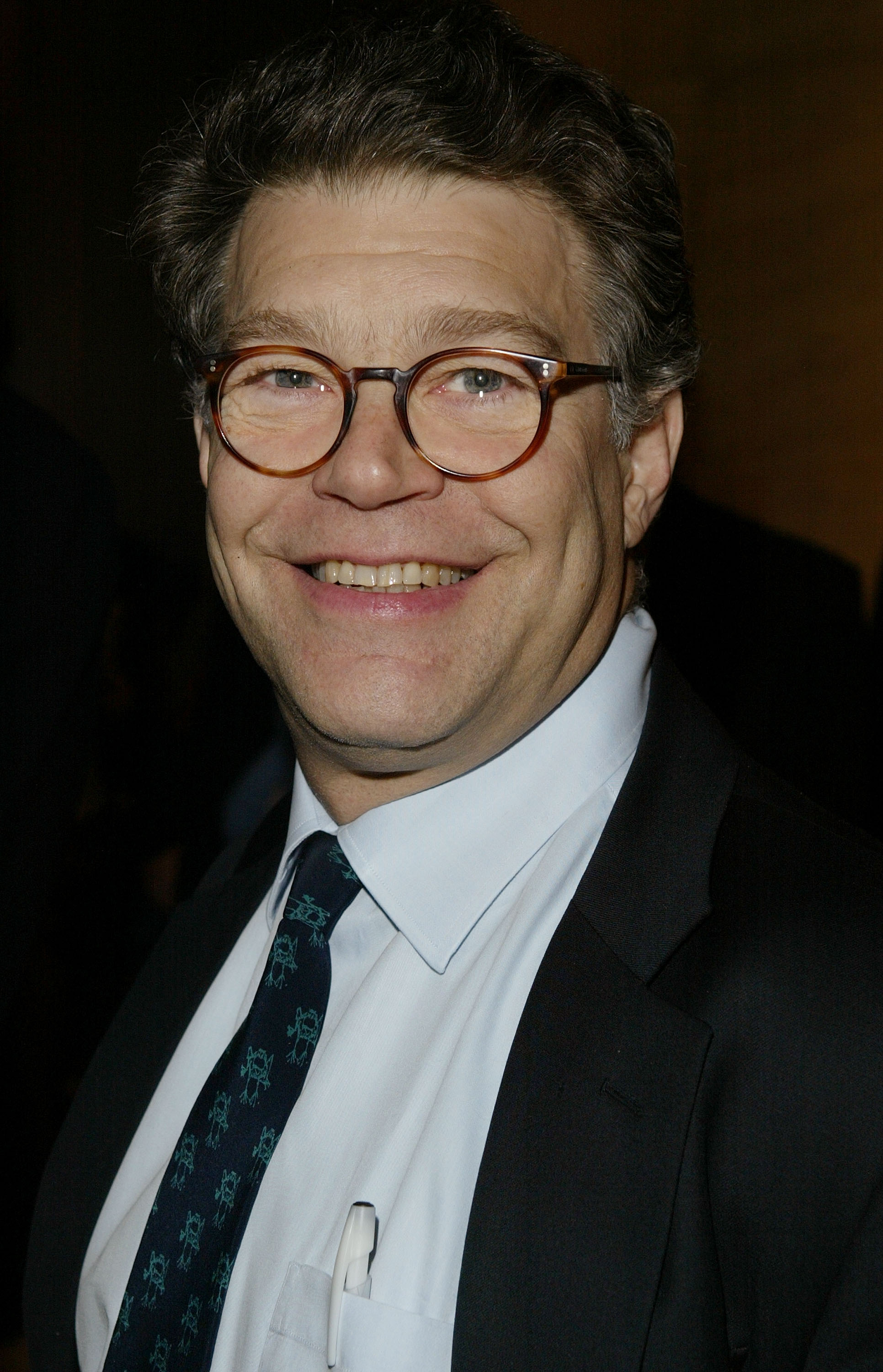 Al Franken Is A Big Fat Radio Host Rolling Stone - Al-franken-draws-us-map
