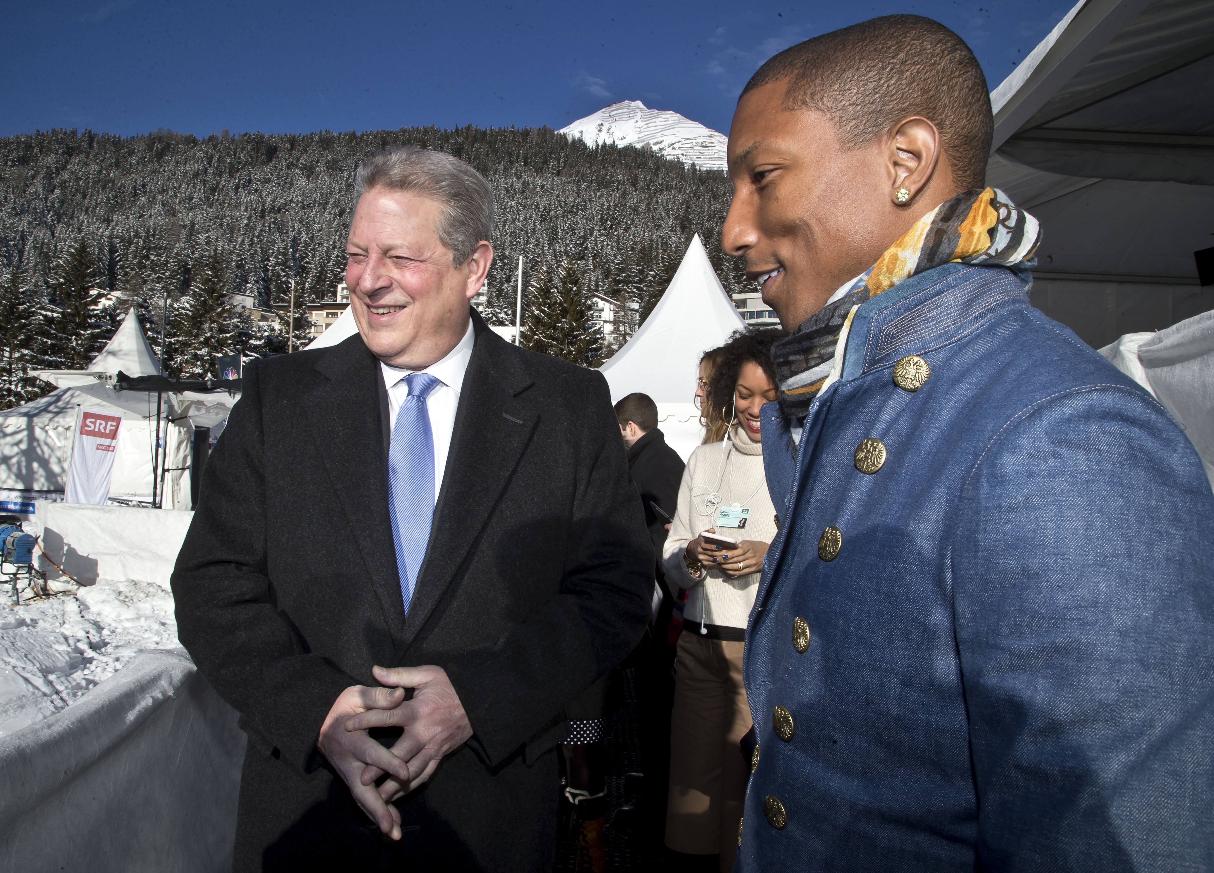 Pharrell, Al Gore Bringing Back Live Earth in 2015