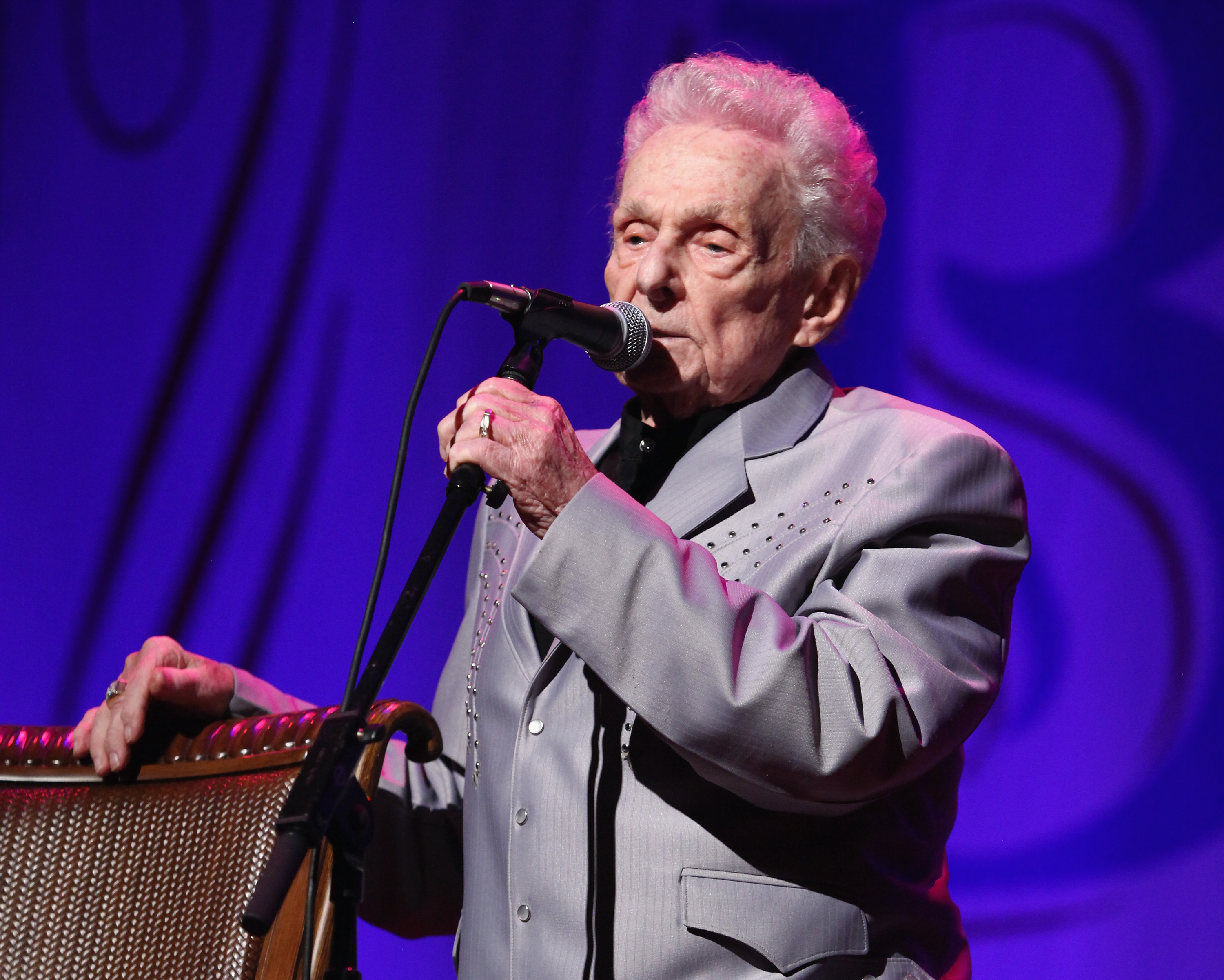 Ralph Stanley on His All-Star Album With Robert Plant, Dierks Bentley