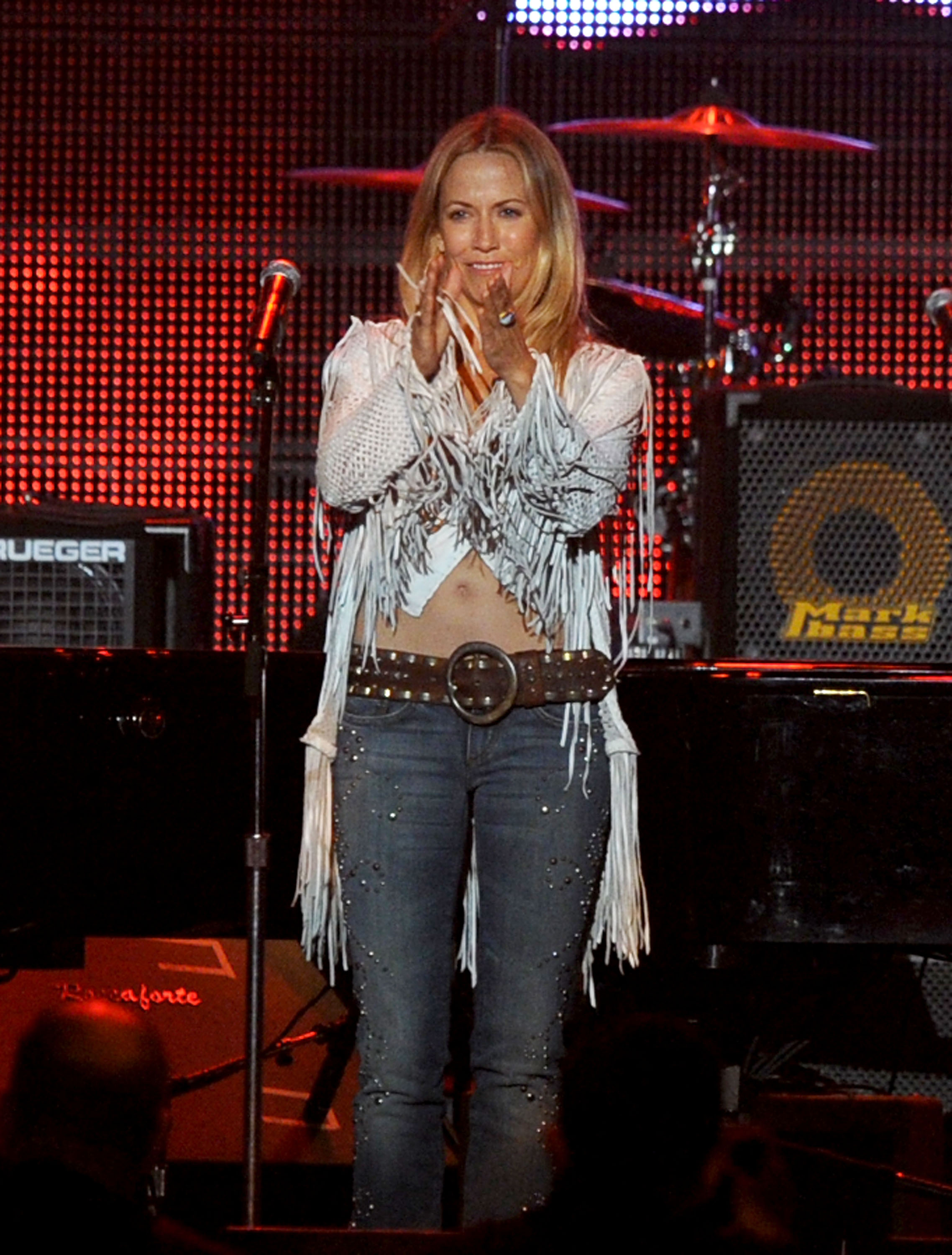 Sheryl Crow At A Tribute To Neil Young Los Angeles California January 29th 2010