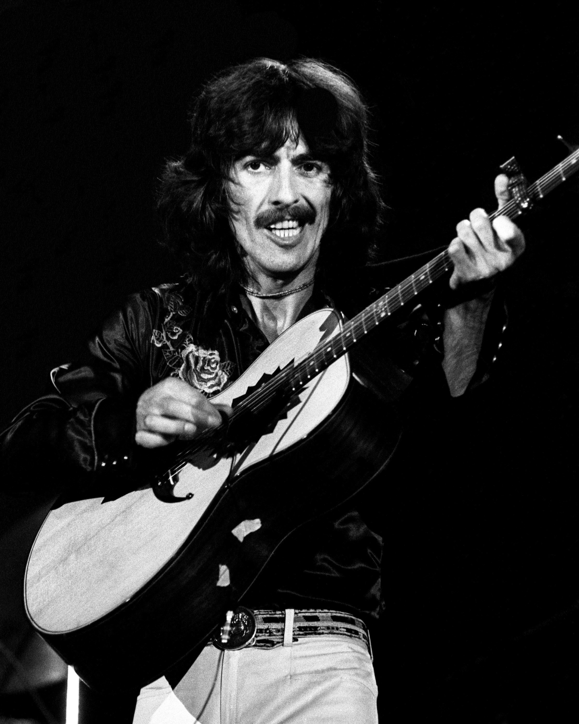 George Harrison Lumbering In The Material World Rolling Stone