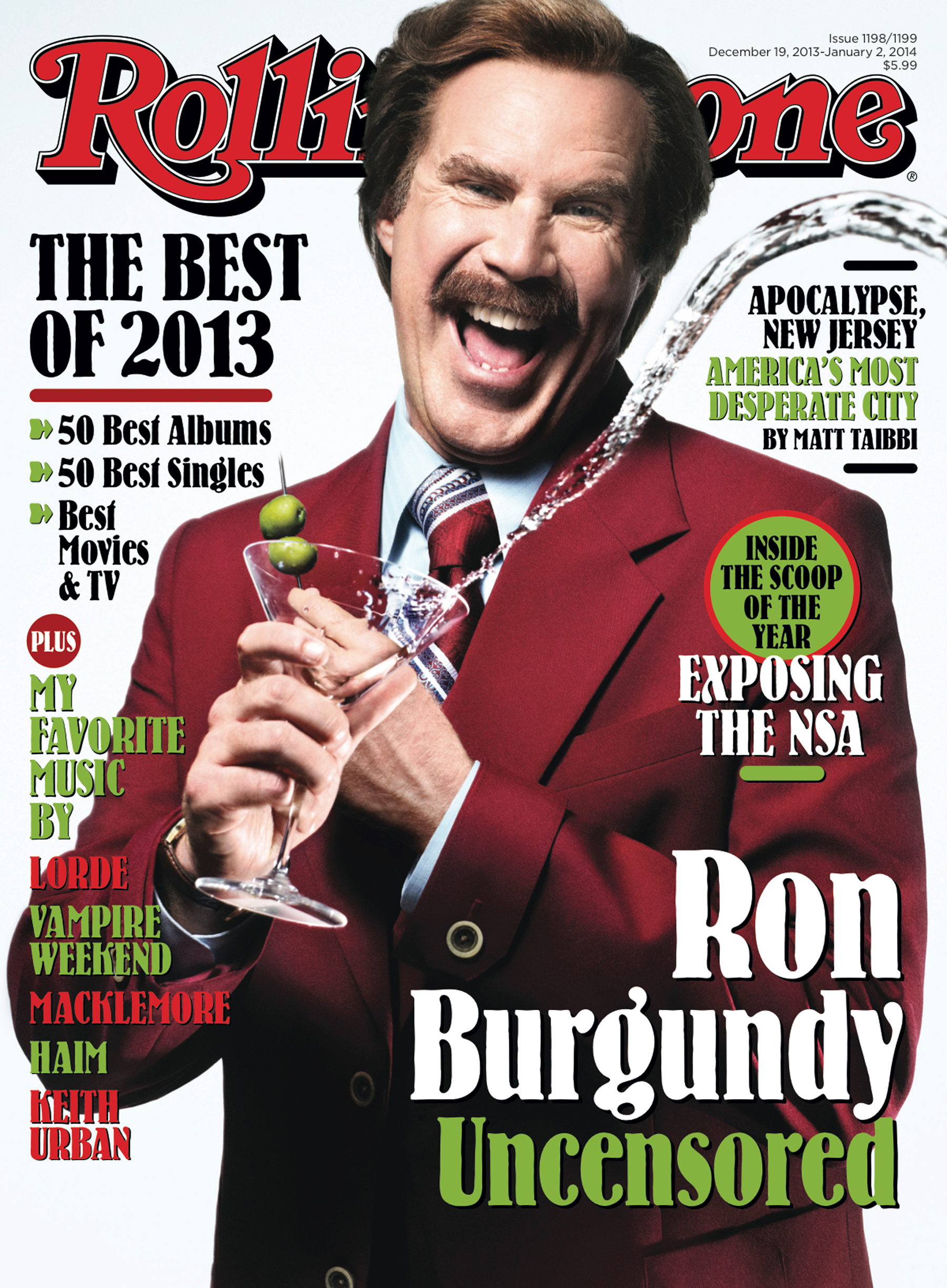 Ron Burgundy Uncensored: Inside the New Issue of Rolling Stone