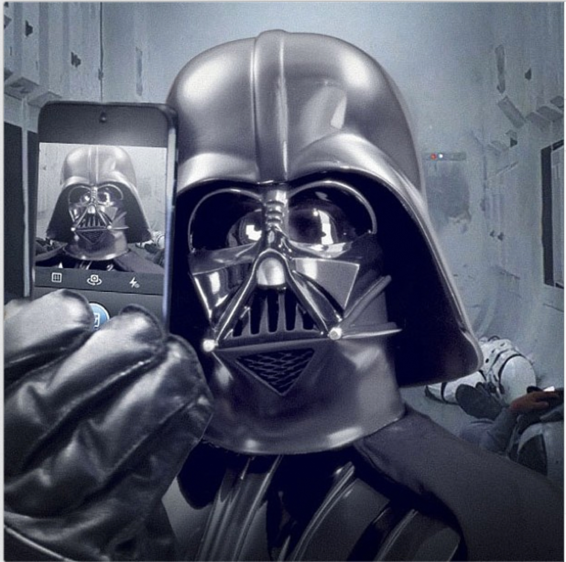 Star Wars' Shares Darth Vader Selfie – Rolling Stone
