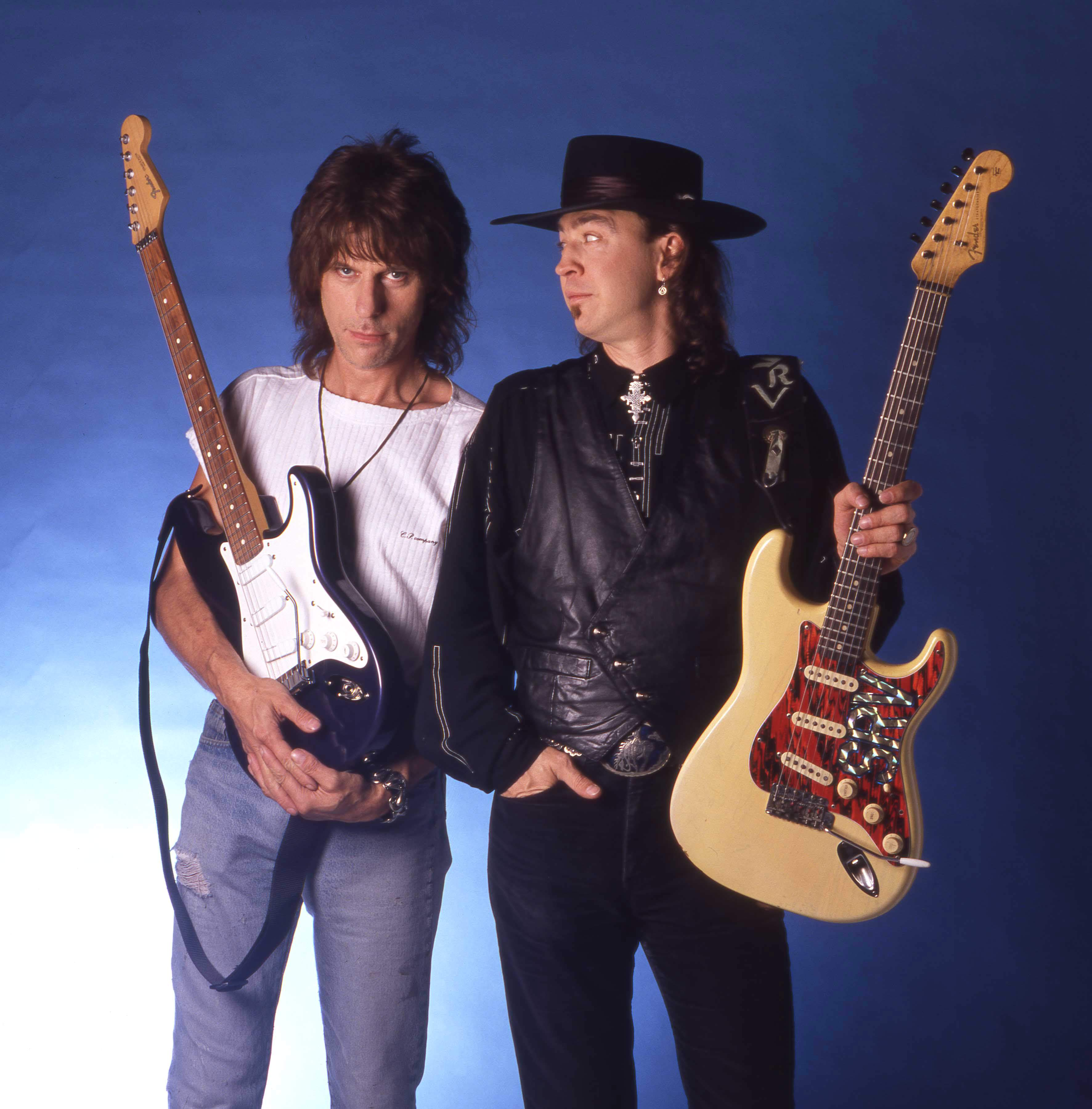 Jeff Beck And Stevie Ray Vaughan