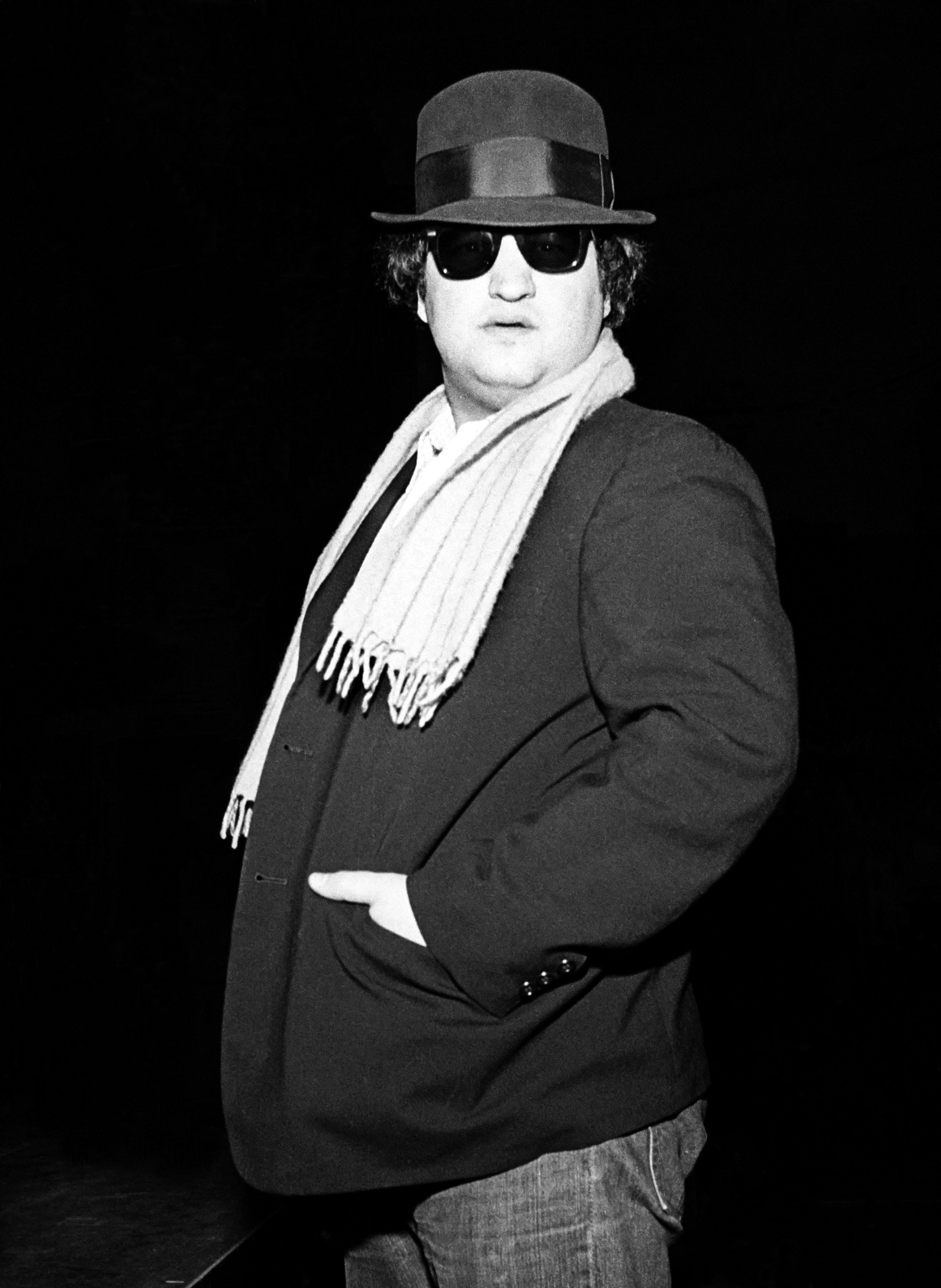 0896a1c828838 John Belushi. John Belushi poses during rehearsal for a Blues Brothers ...
