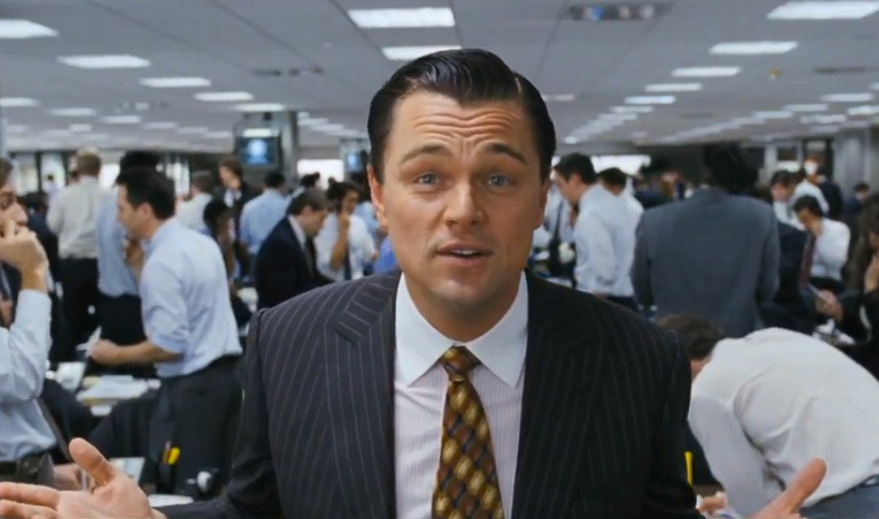Can Leonardo DiCaprio Win an Oscar for Playing a Wall Street Scumbag?