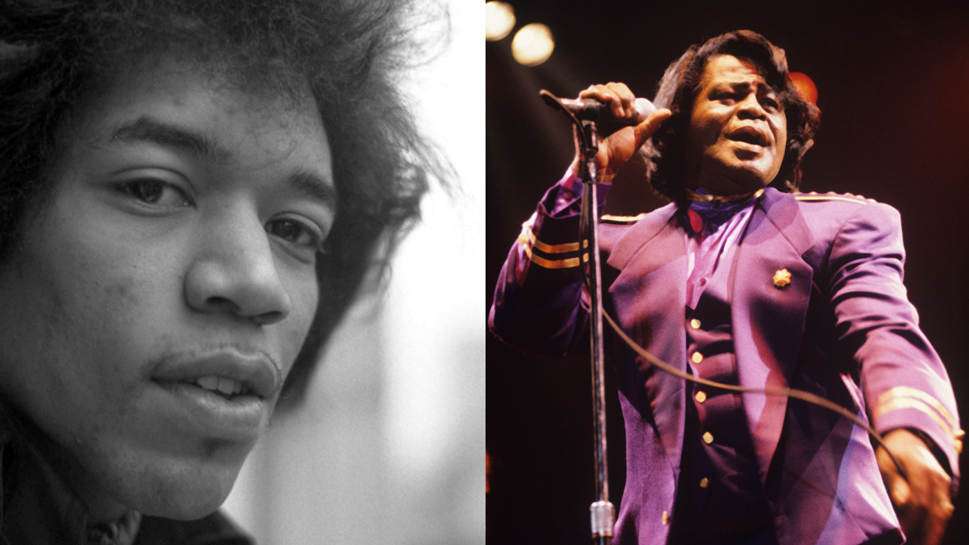 Jimi Hendrix, James Brown Honored for Spotify's Black History Month