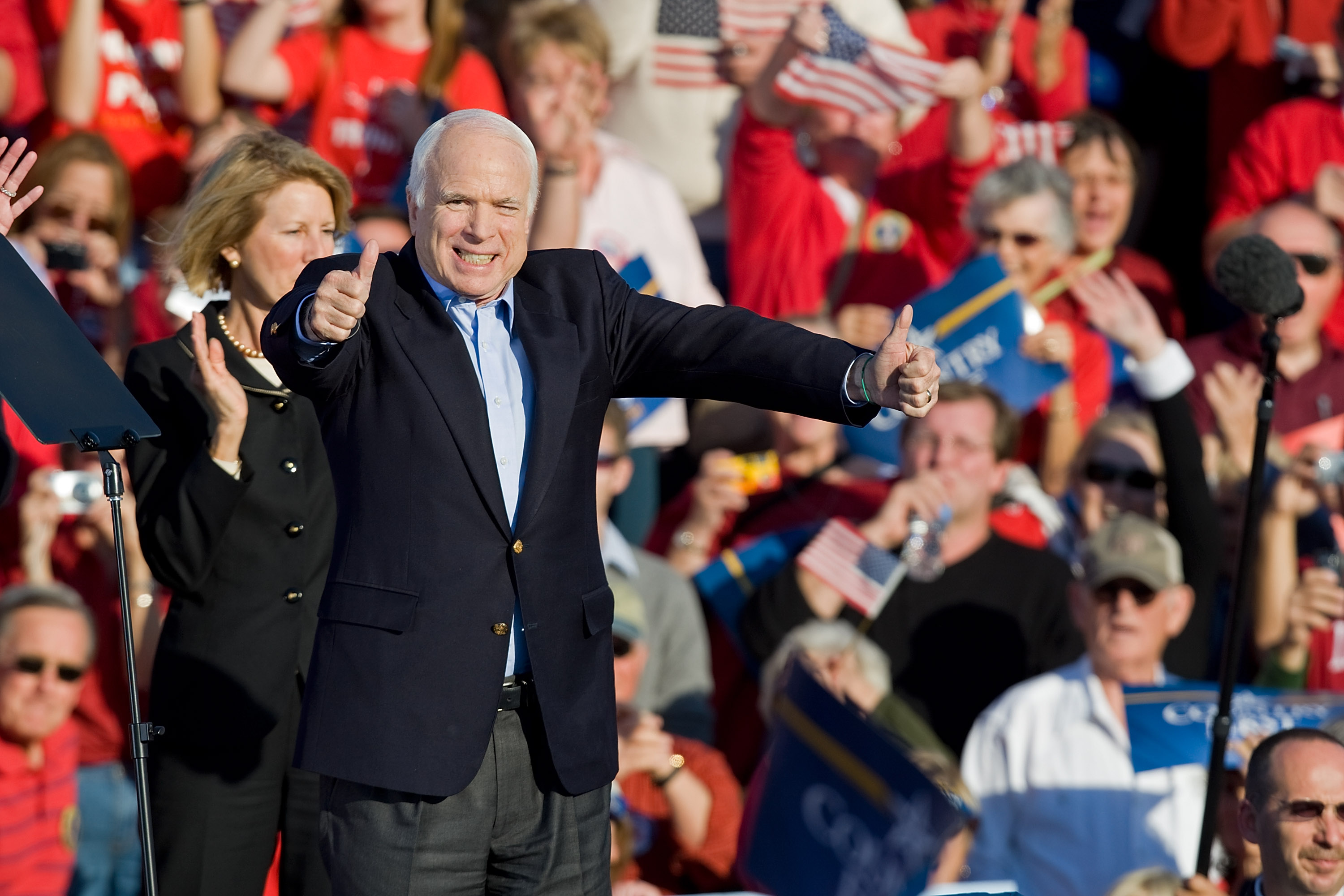 Mccain cunt wife comment