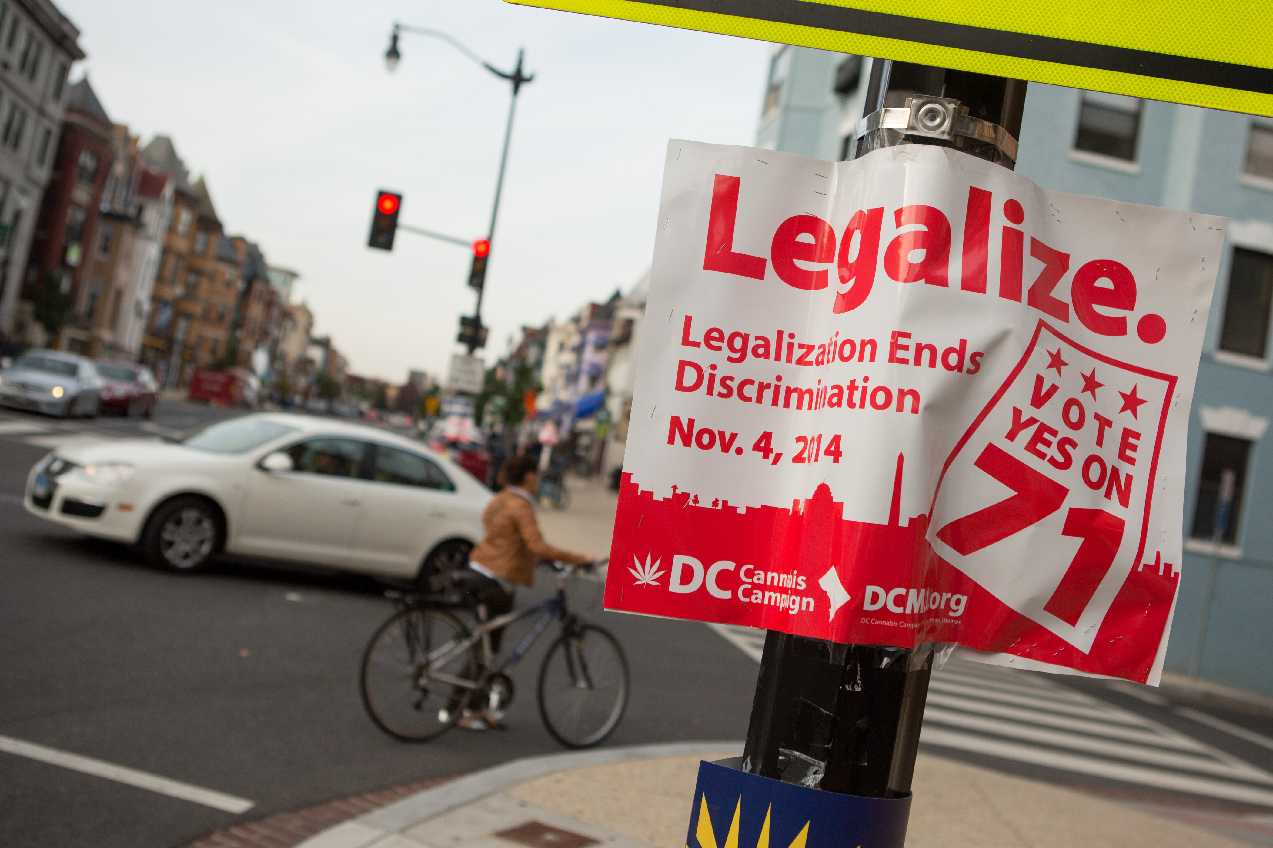 Washington, D.C.'s Legalized Weed Battle Comes Down to Word 'Enact'