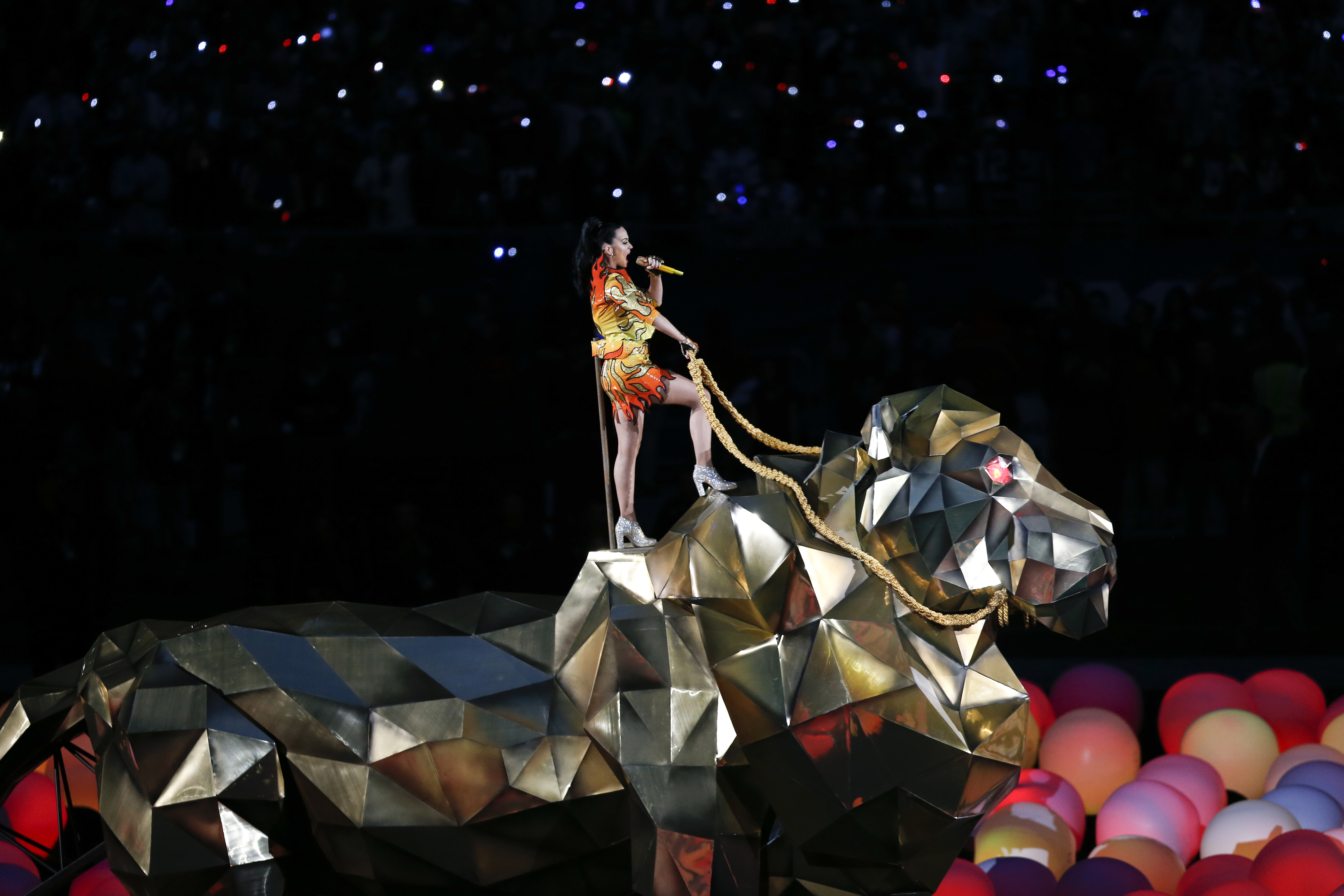 """Katy Perry on Super Bowl: 'God Said, 'You Got This"""""""