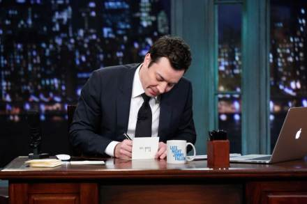 Jimmy Fallon Says Goodbye to 'Late Night' With Help From the