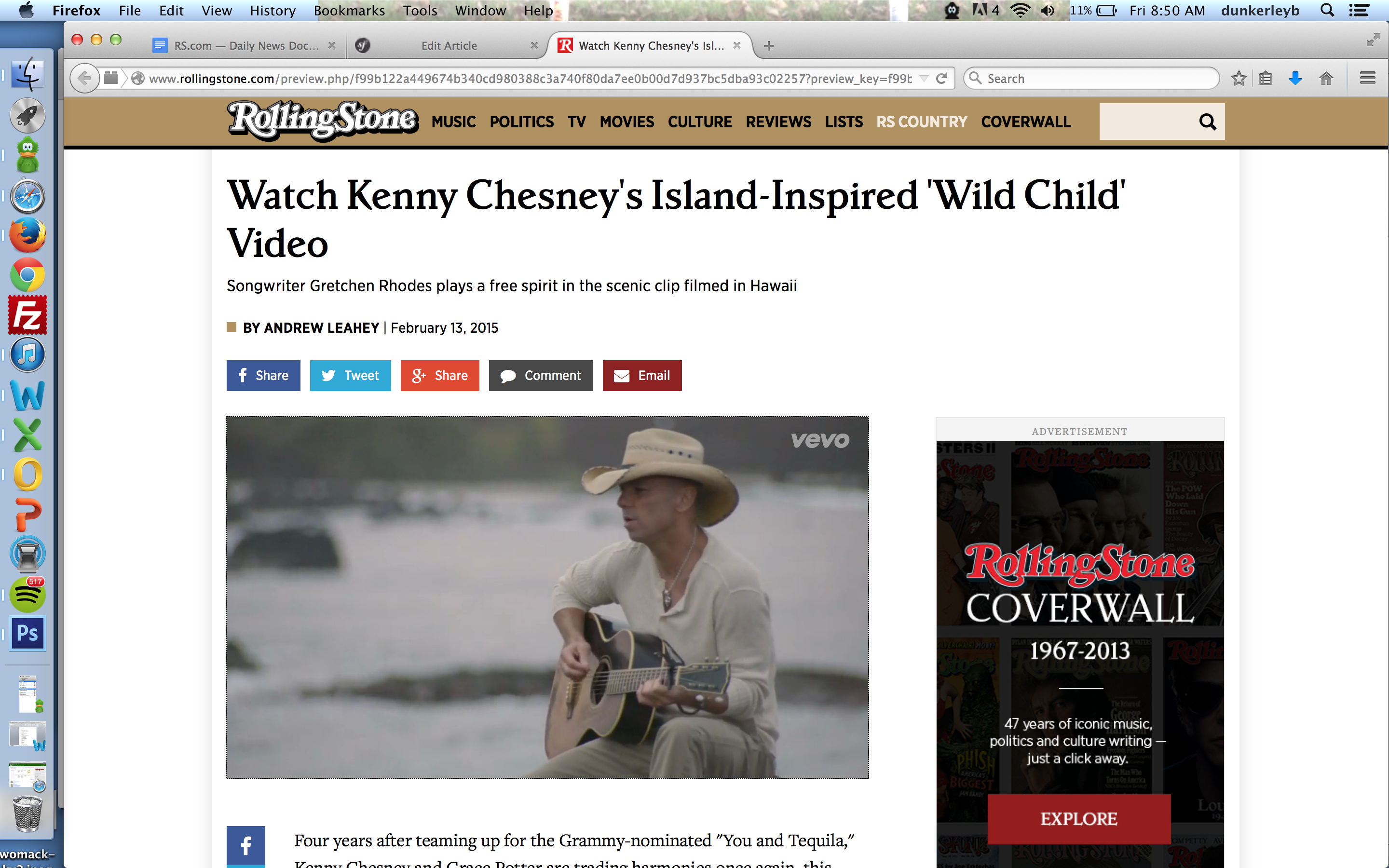 Wondrous Watch Kenny Chesneys Free Spirited Wild Child Video Beutiful Home Inspiration Ommitmahrainfo